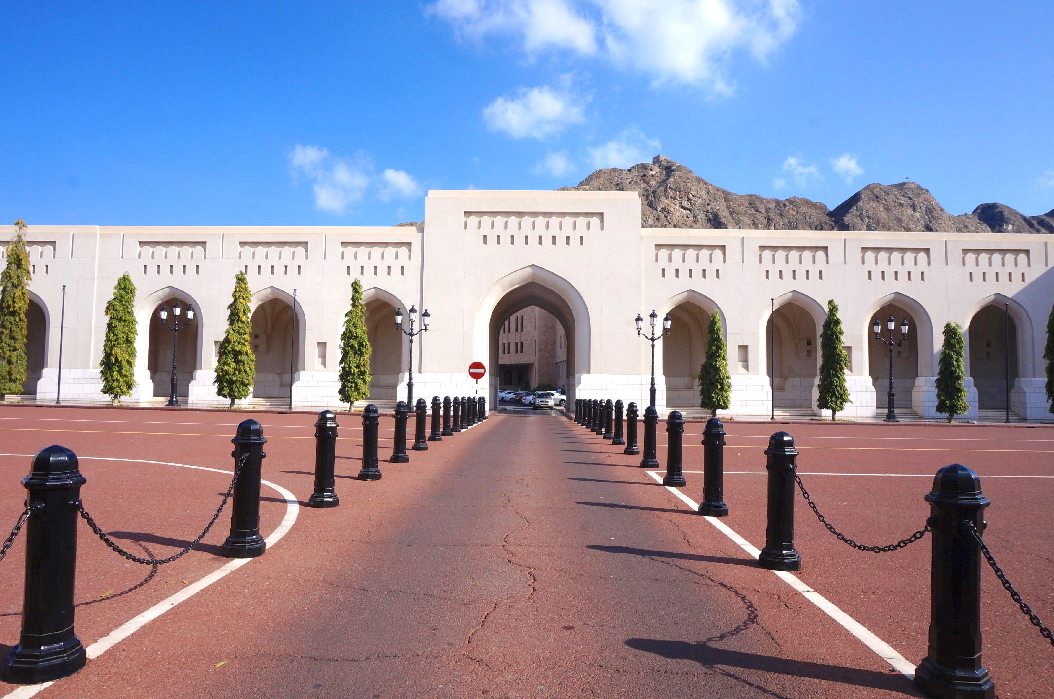 palais du sultan, oman, mascate