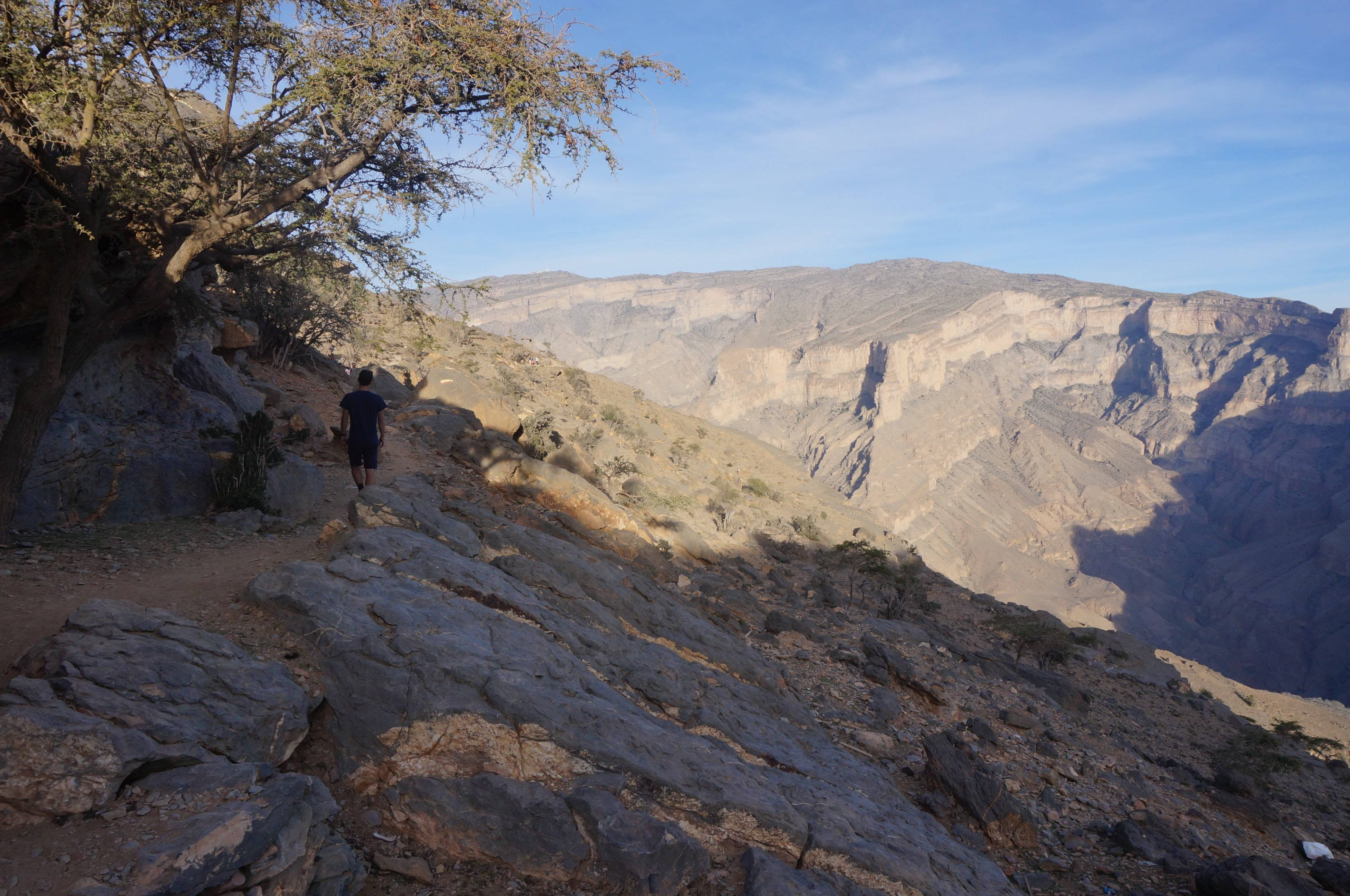 grand canyon, oman, jebel shams