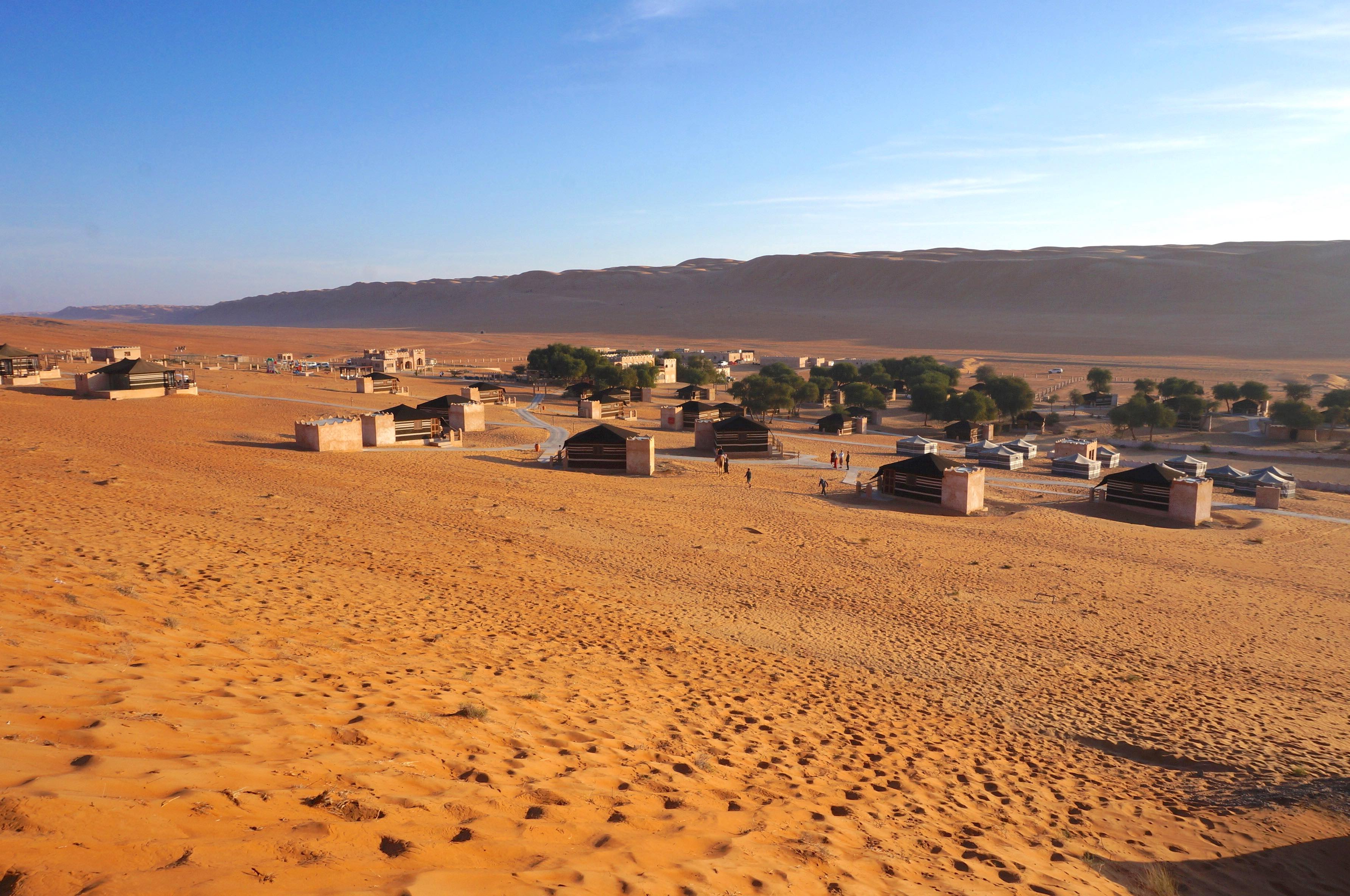 wahiba sands, oman, thousand nights camp