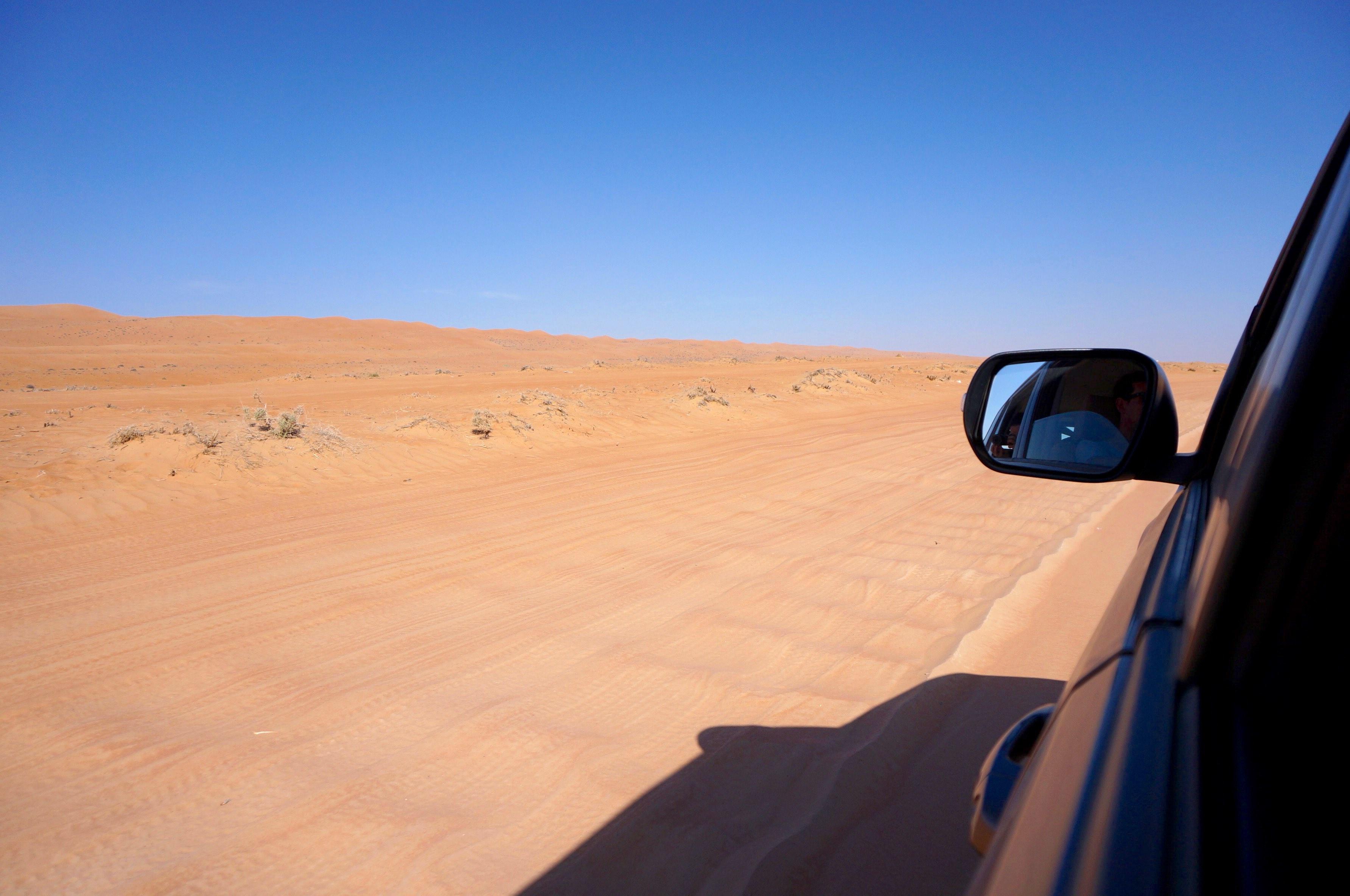 désert, oman