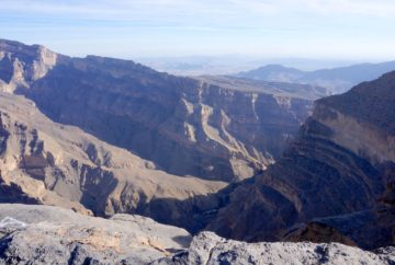 grand canyon, jebel shams, oman