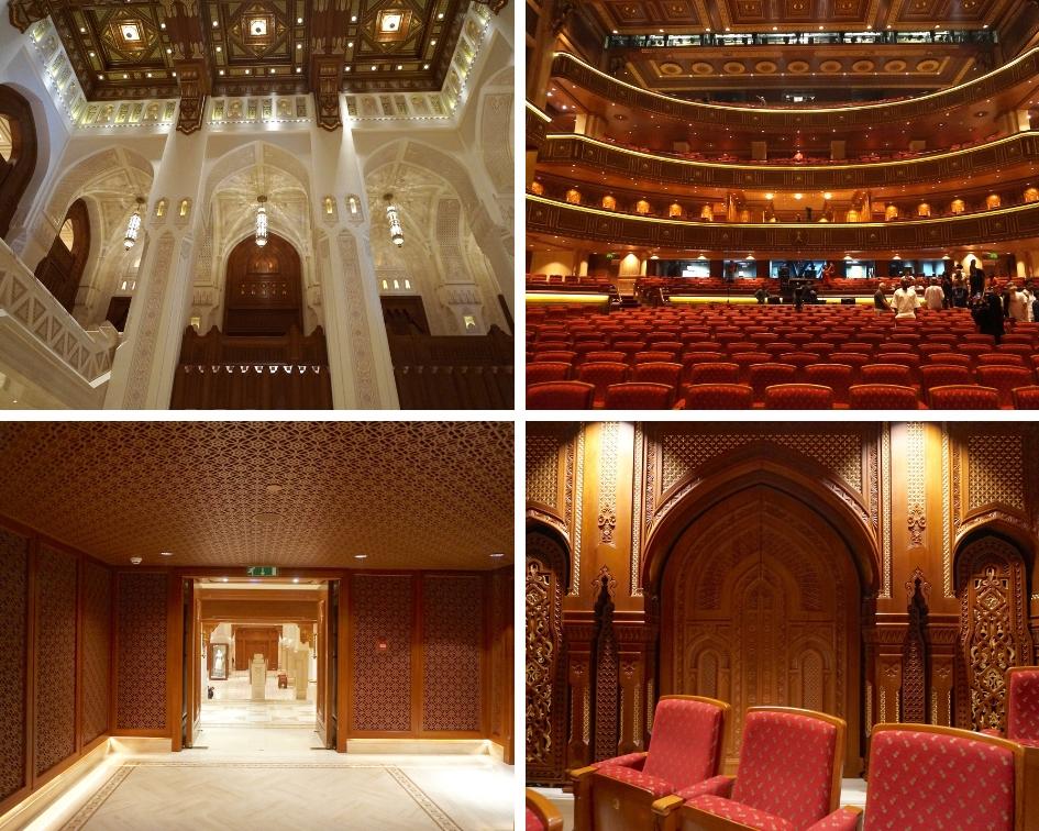 royal opera muscat, oman, mascate