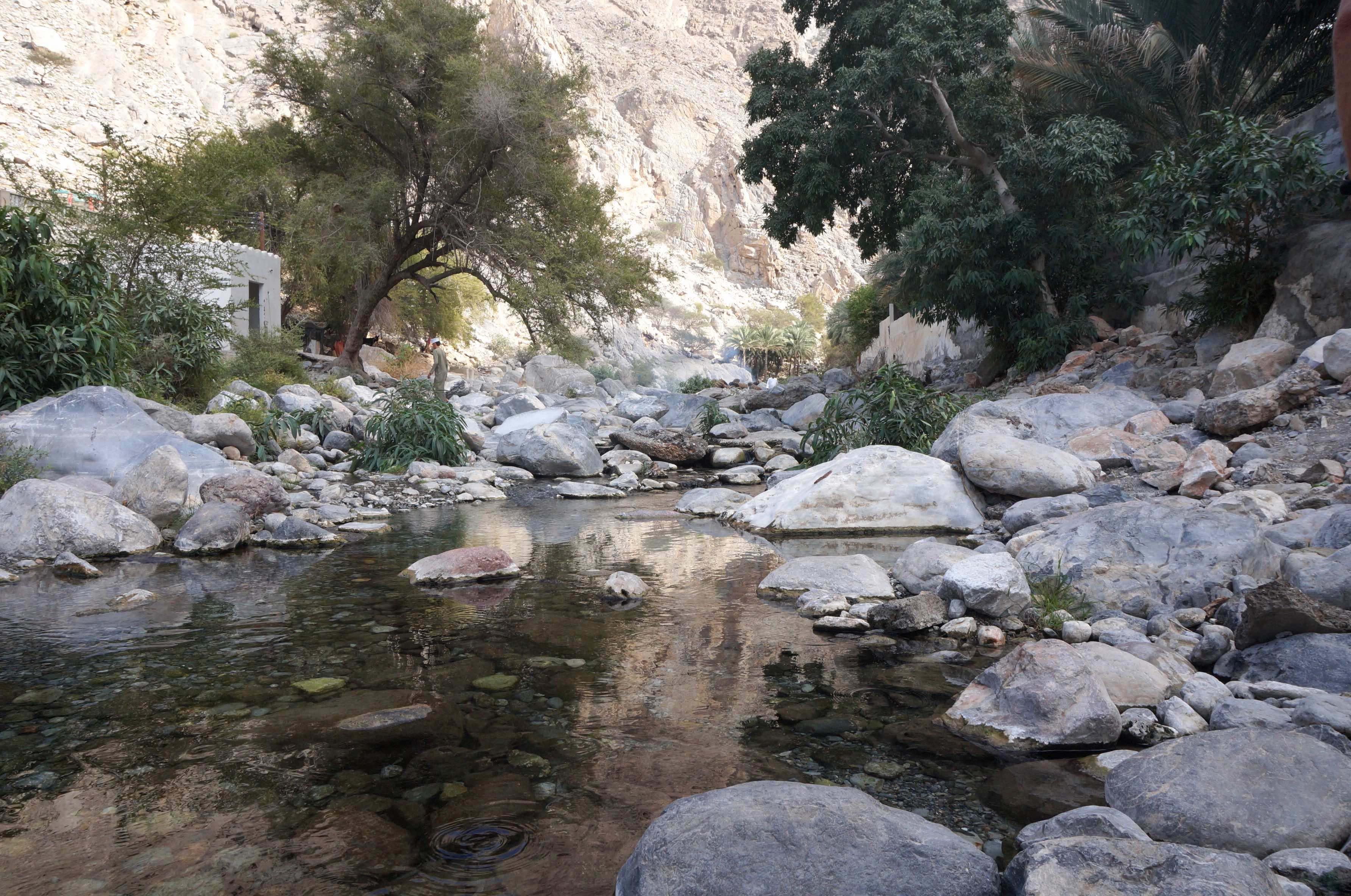 source d'eau chaude d'Al-Thawarah, oman