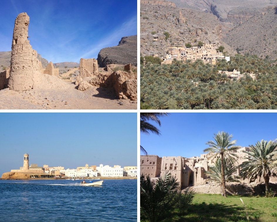 villages d'oman