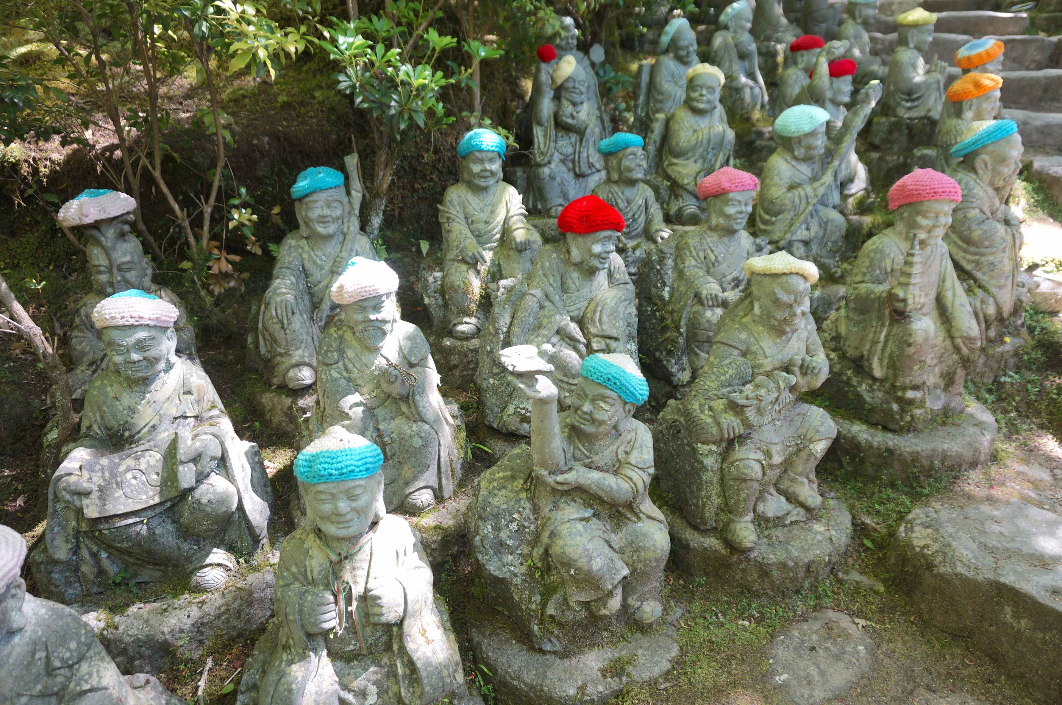 daisho-in, île de miyajima, japon