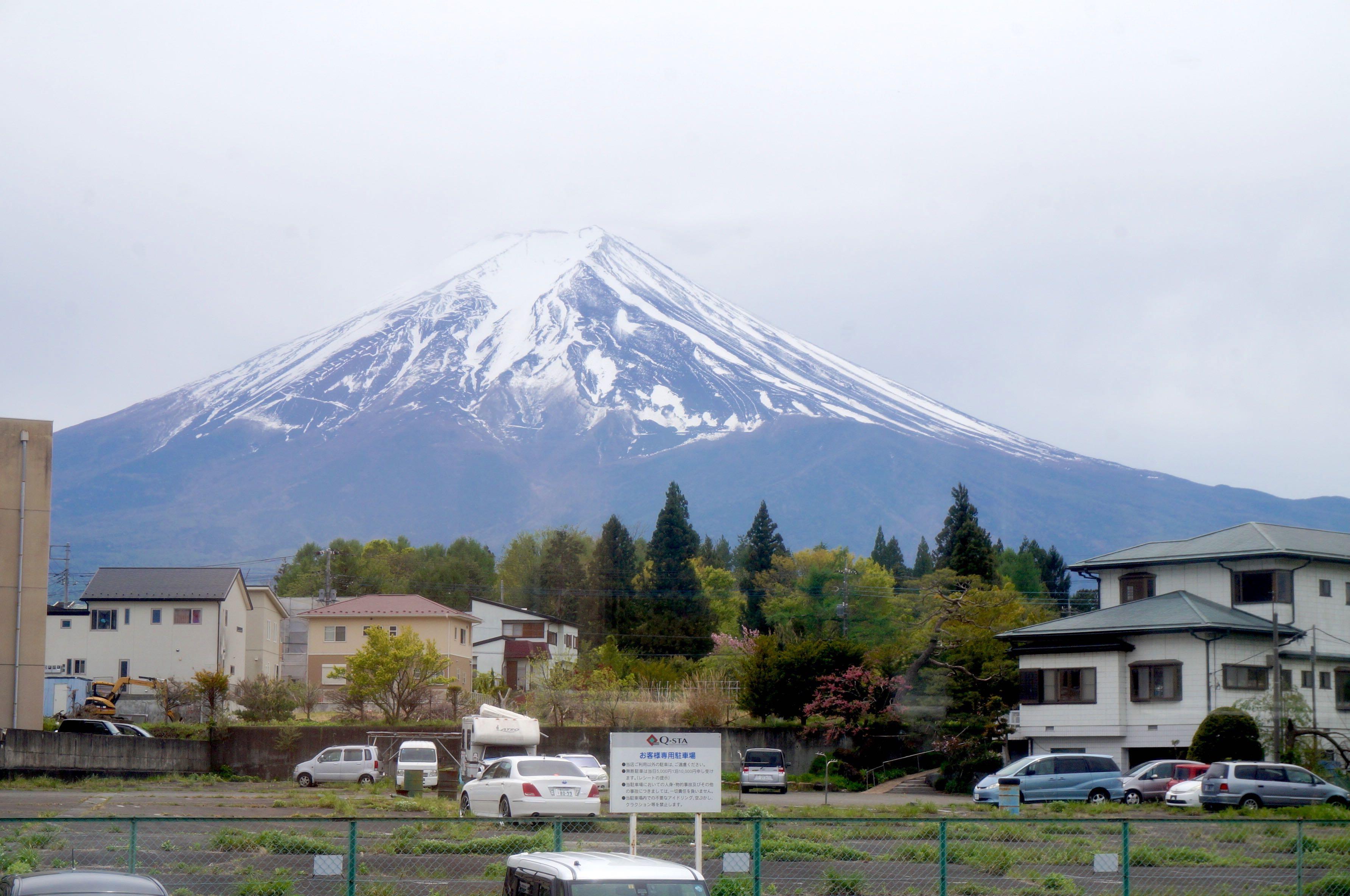 mont fuji, japon