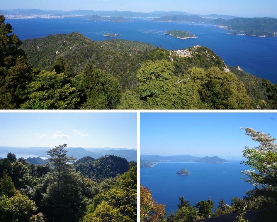 mont misen, japon, île de miyajima