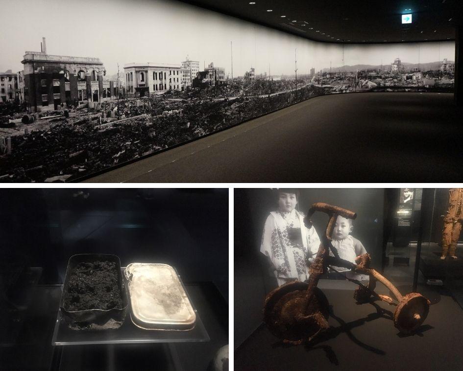hiroshima, musée du mémorial de la paix, japon