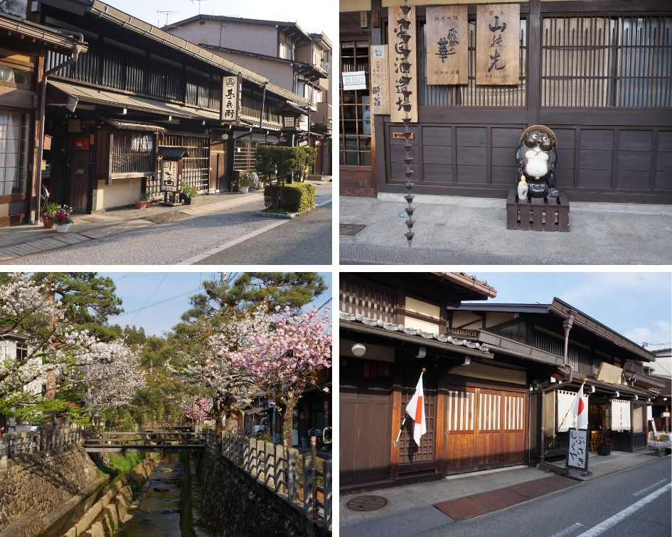 takayama, japon