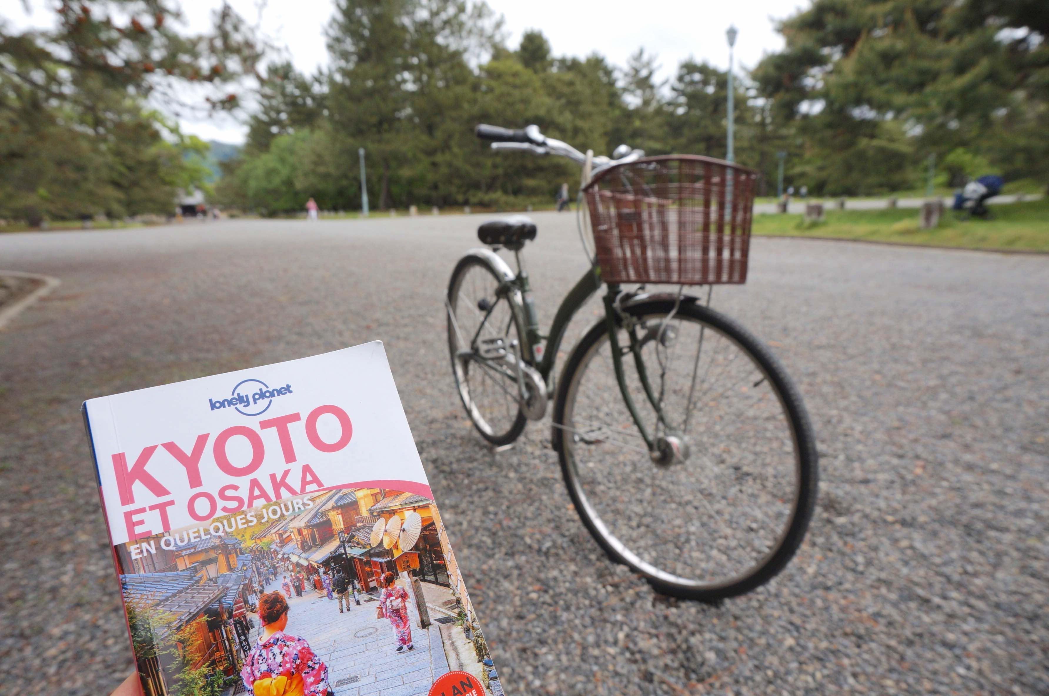 kyoto en vélo, japon