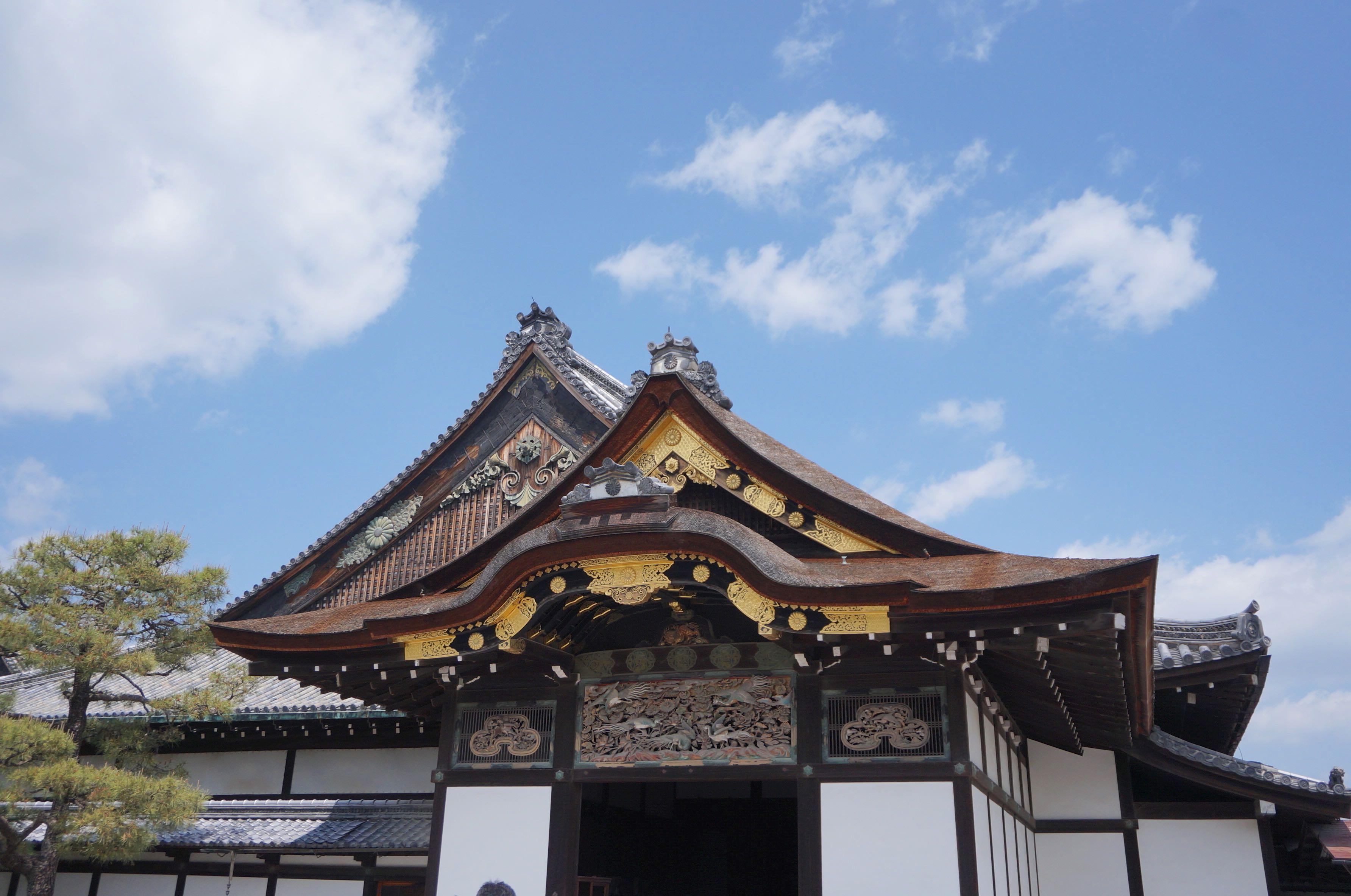 Nijo-jo, kyoto, japon