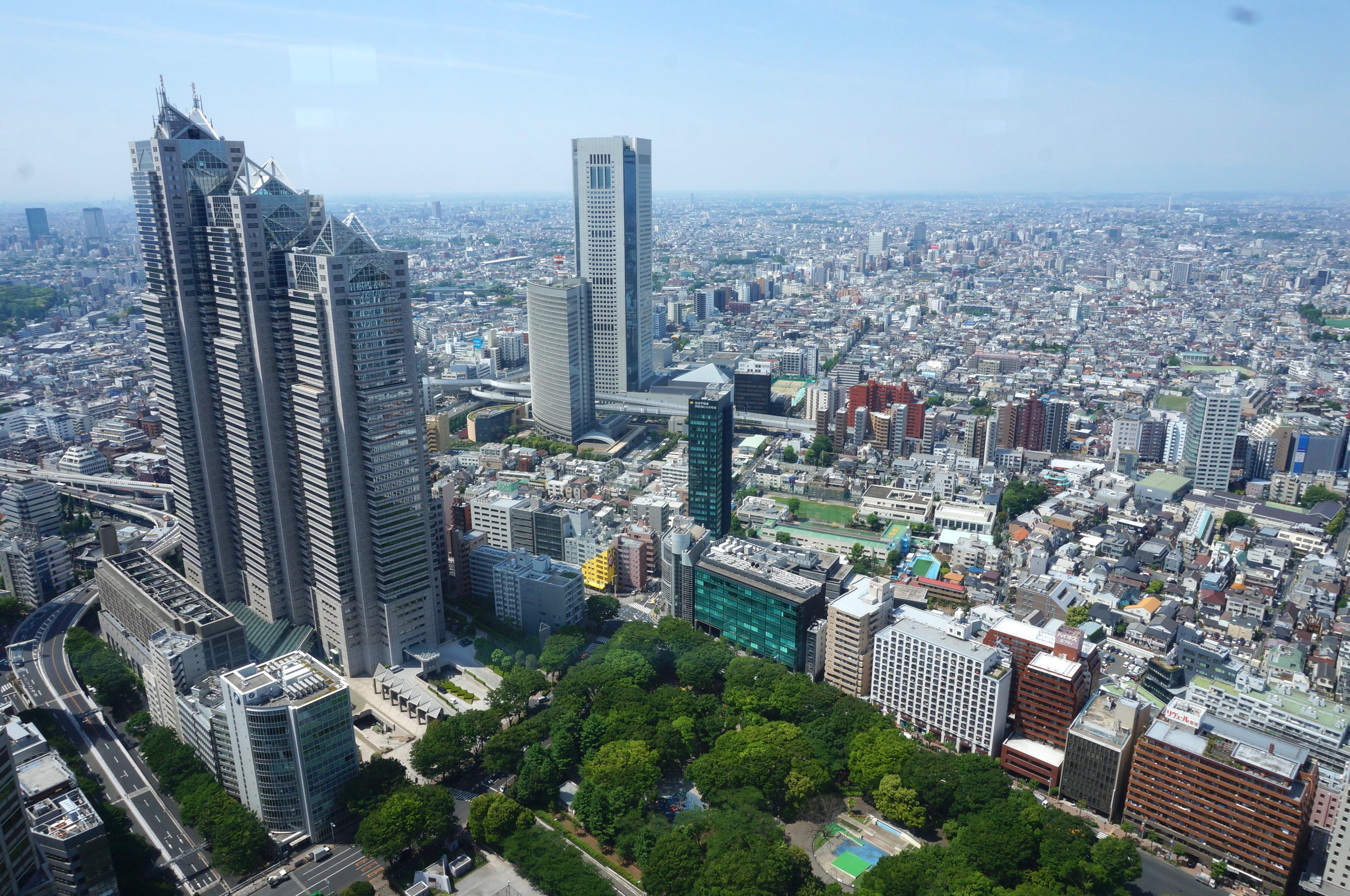 mairie de tokyo, shinjuku, tokyo, japon