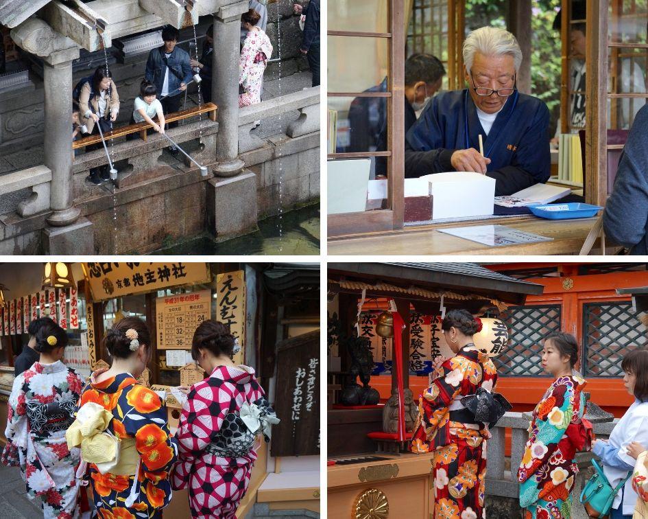 Kiyomizu-dera, kyoto, japon