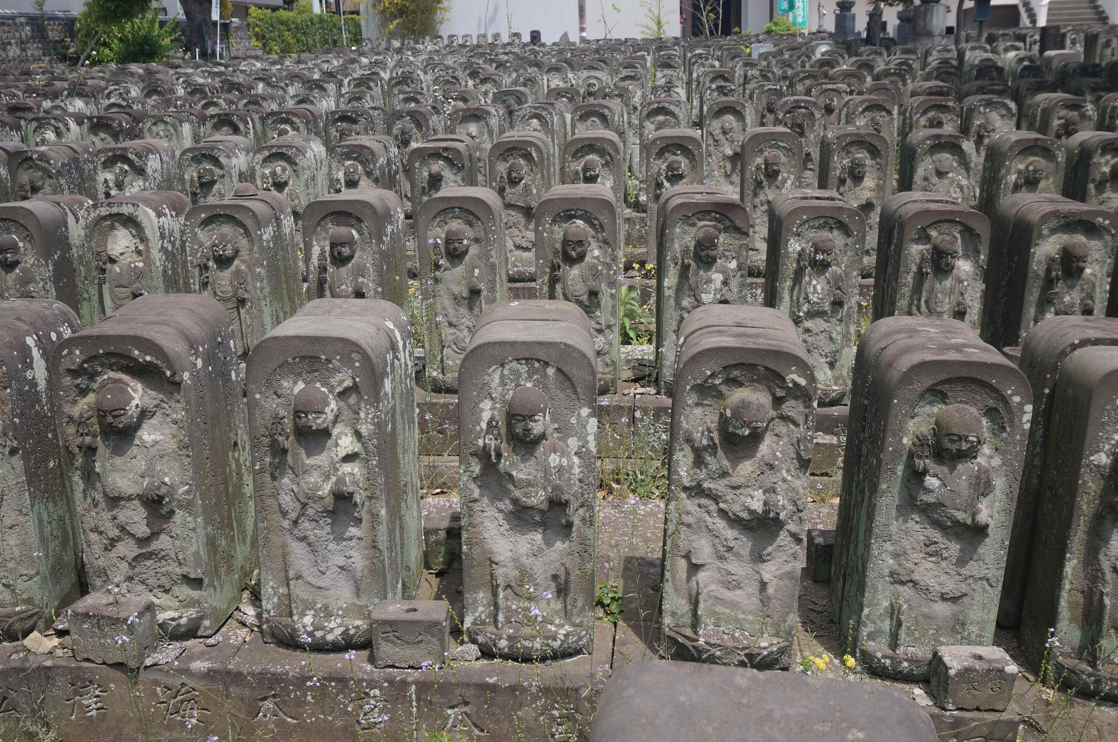 yanaka, temple de jomyoin, tokyo, japon