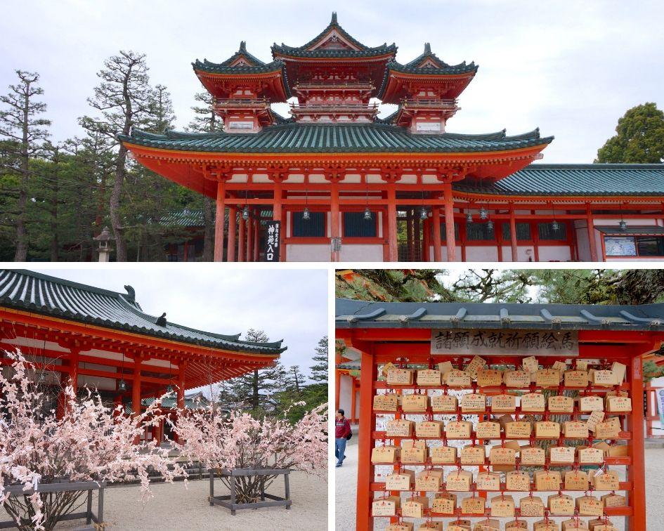 Sanctuaire Heian-jingu, tokyo, japon
