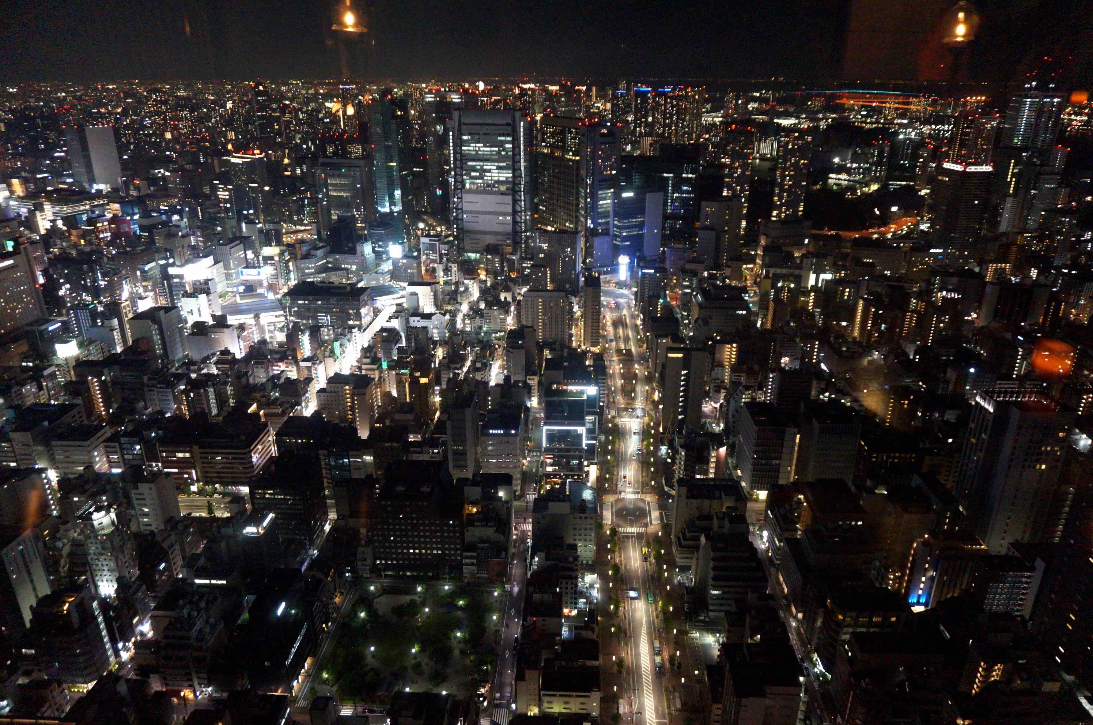 vue de nuit, tokyo, rooftop bar