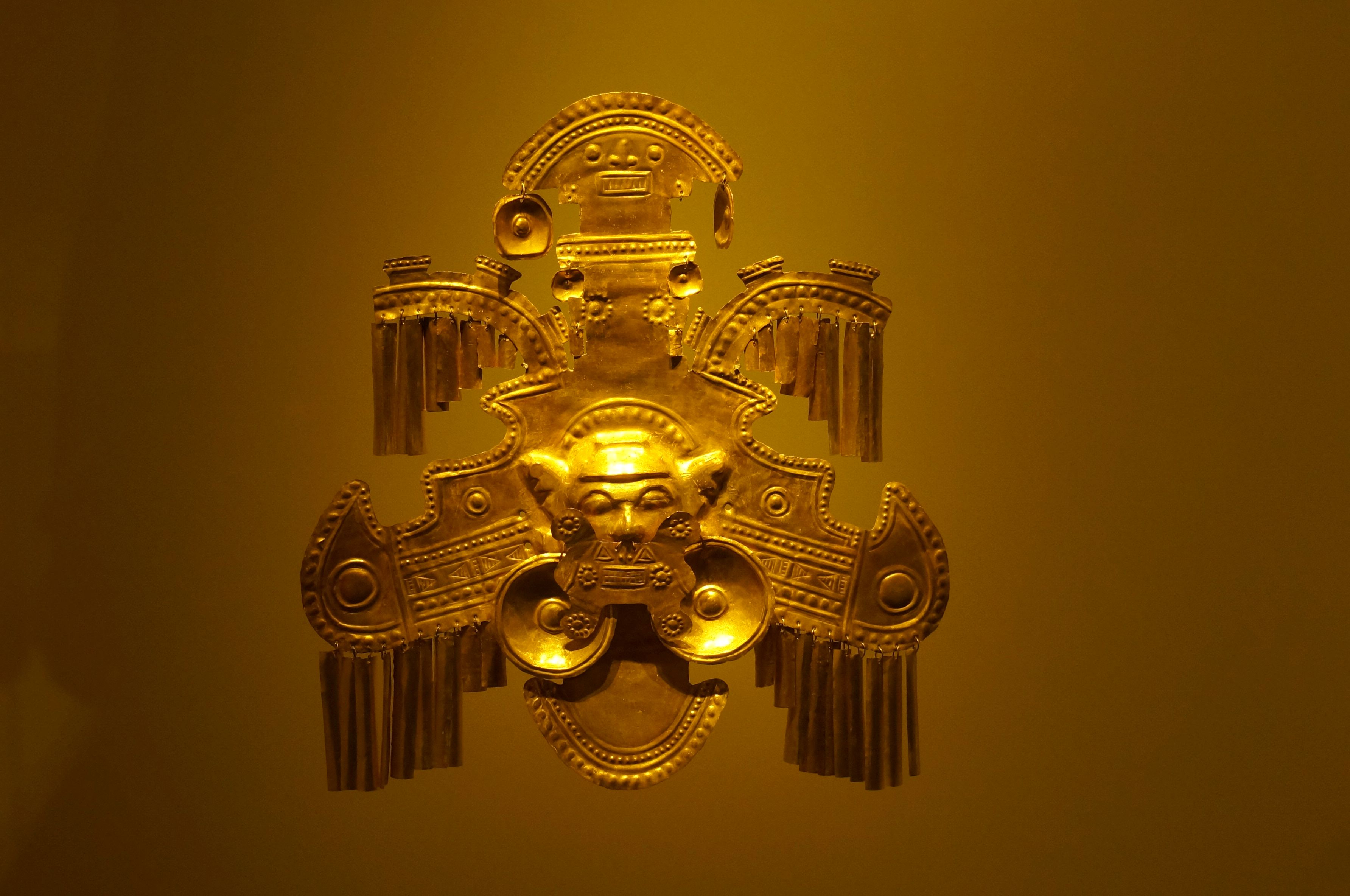 bogota, musée de l'or, colombie
