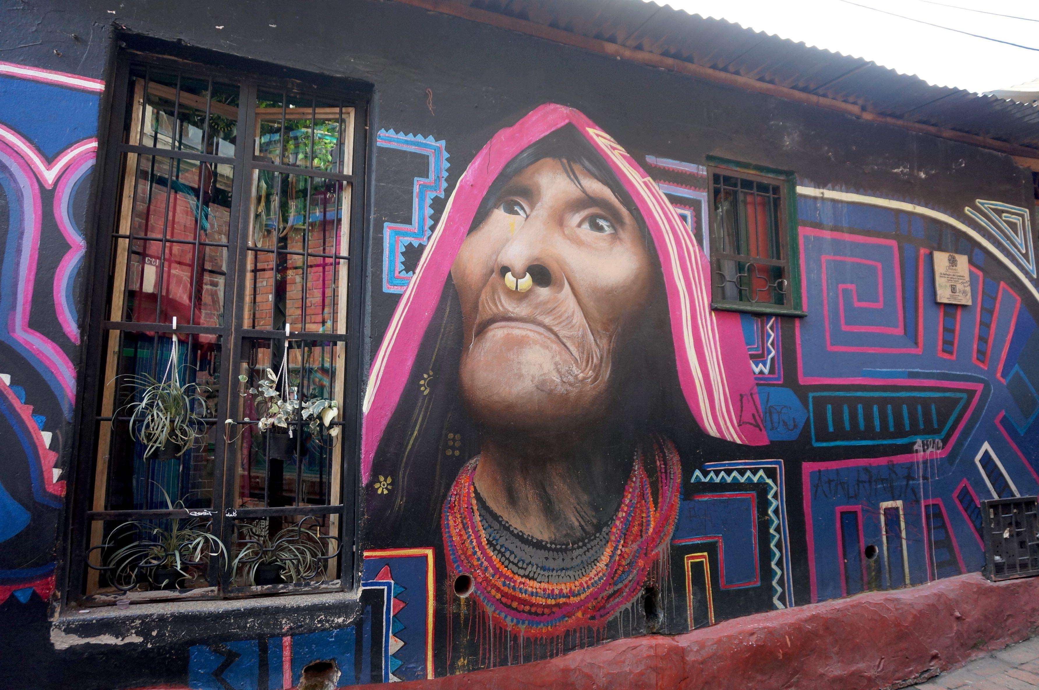 la Candelaria, bogota, colombie