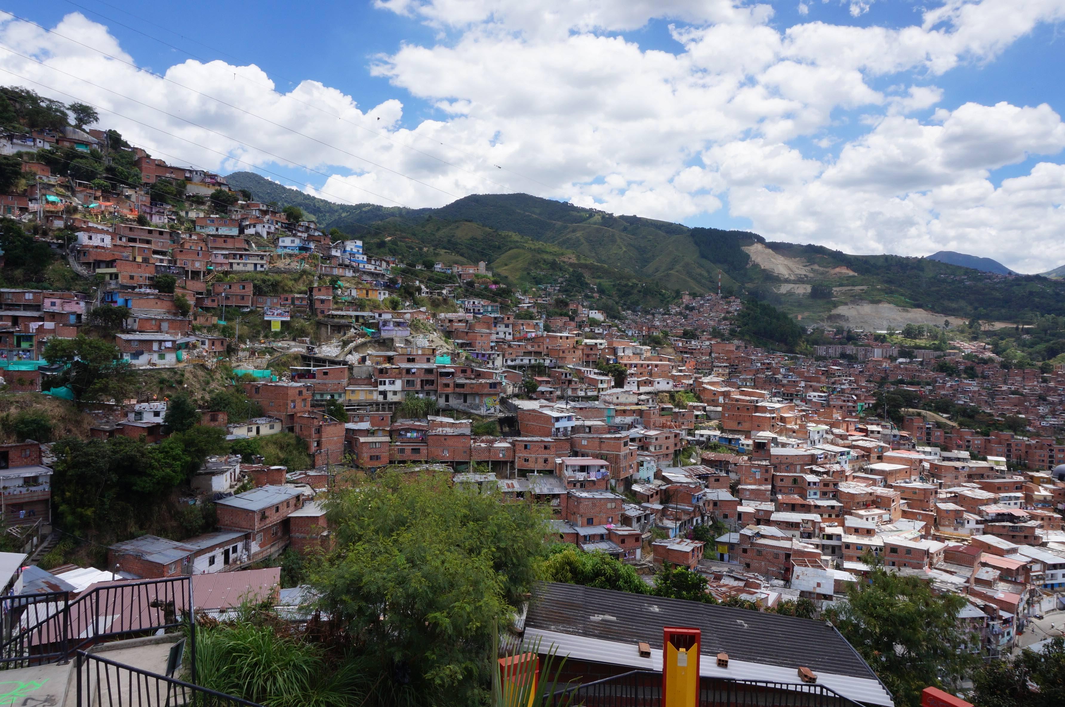 comuna 13, medellin, colombie
