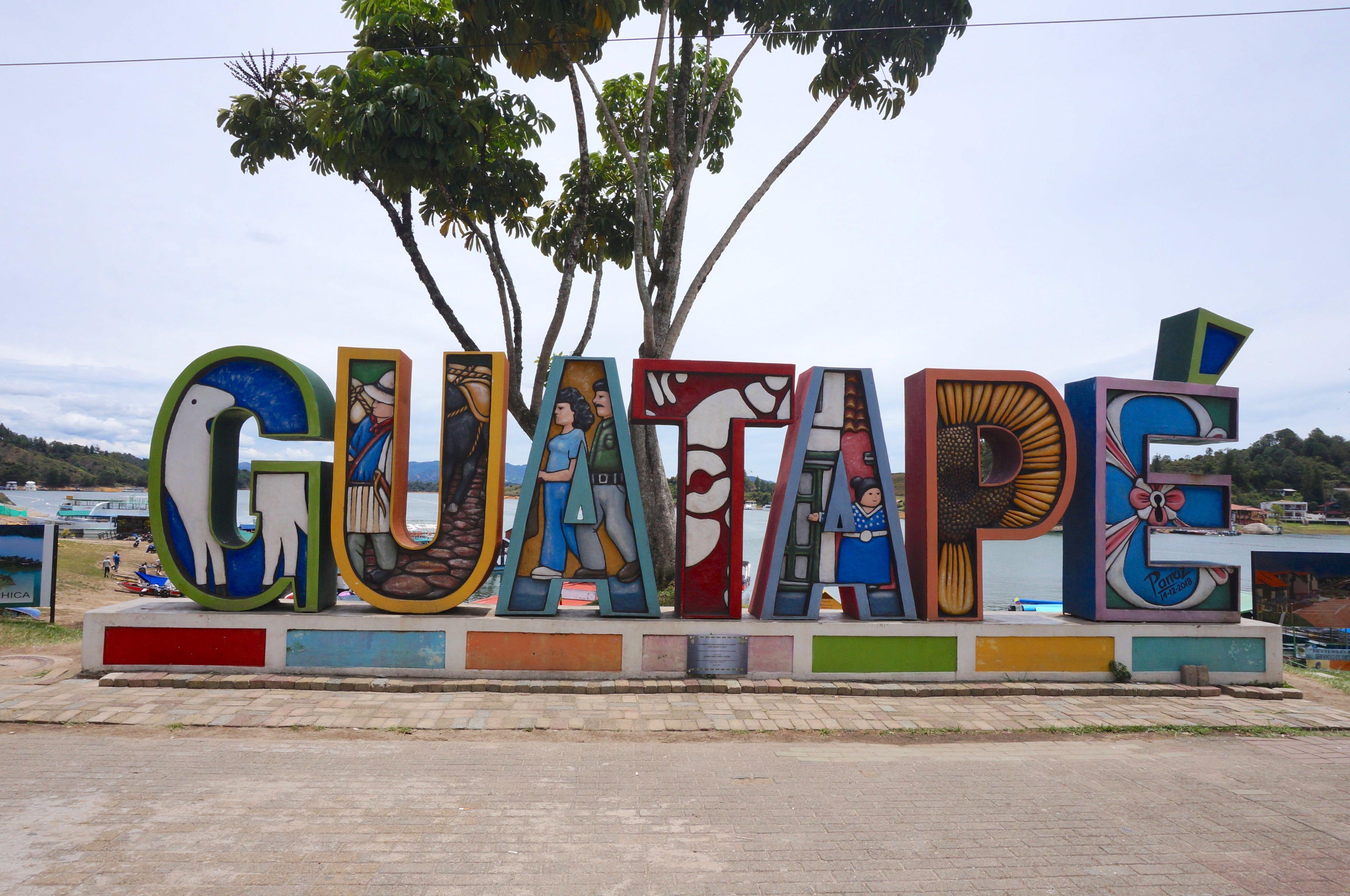 guadapé, colombie