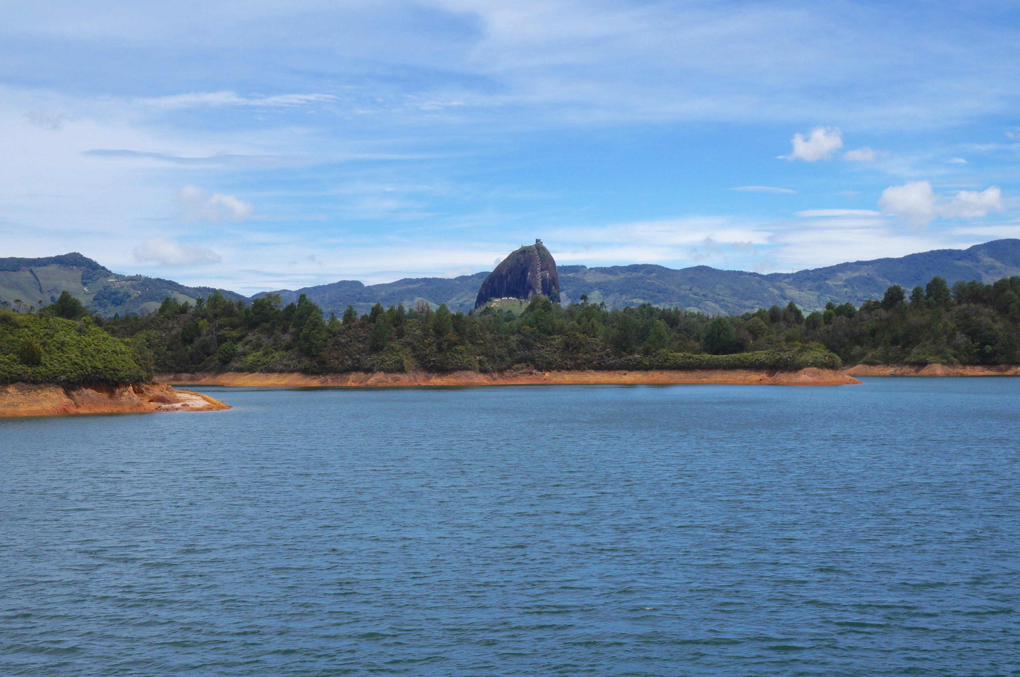lac, peñón de guatapé, colombie