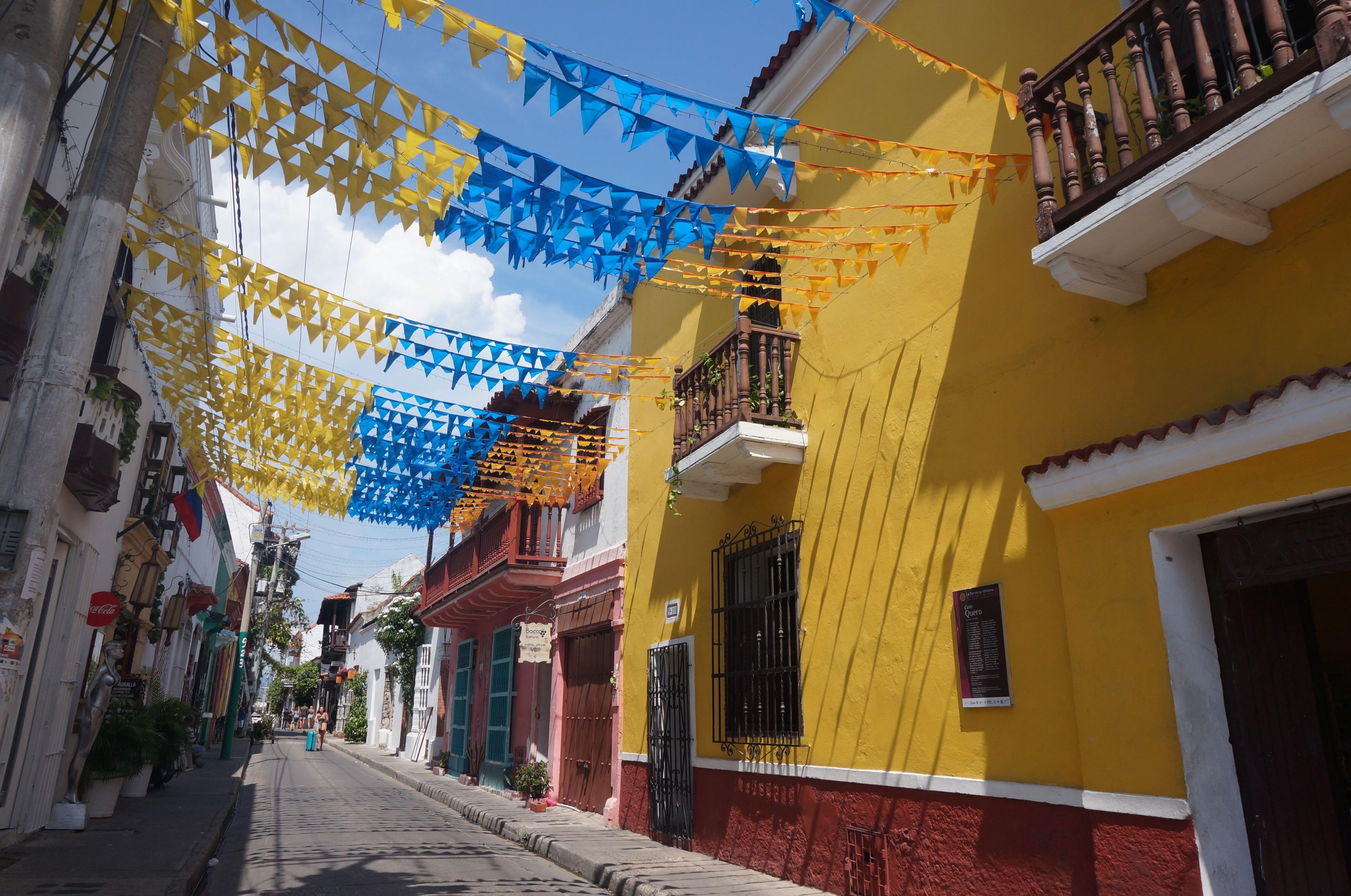 carthagène des indes, colombie
