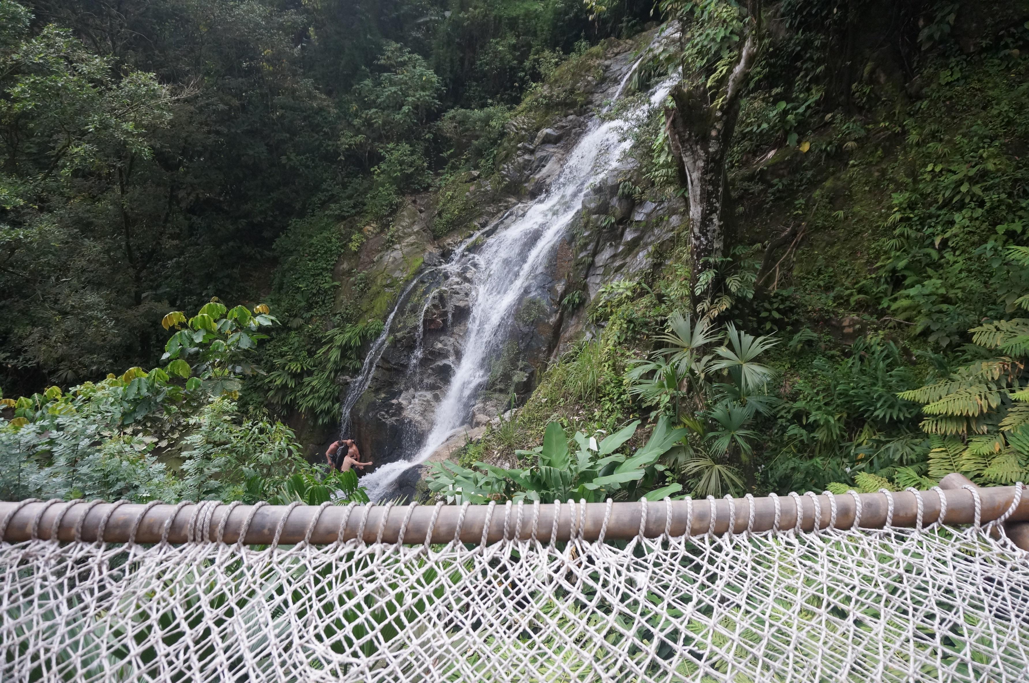 Minca, colombie, cascade marinca