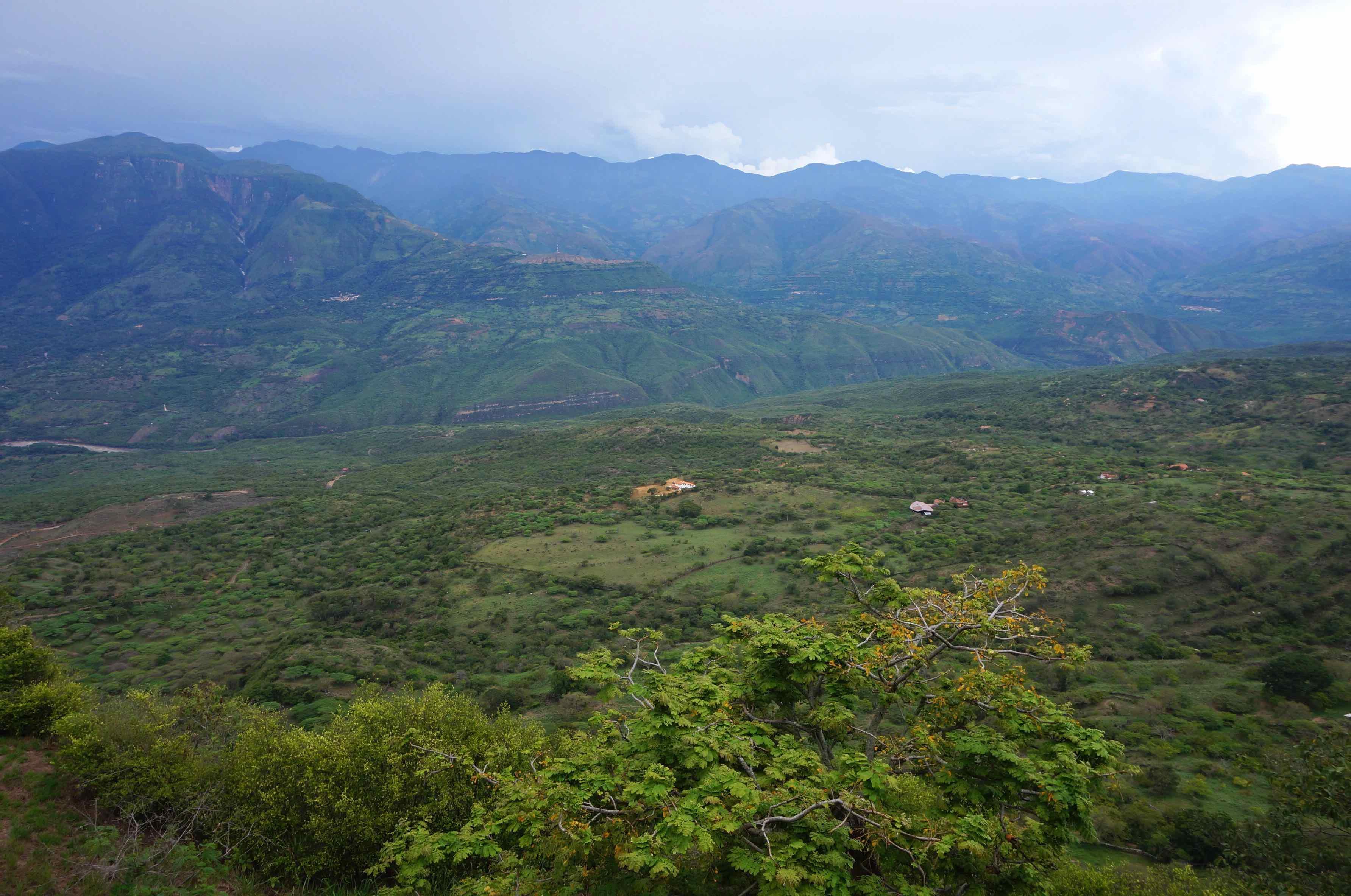 mirador, barichara, colombie
