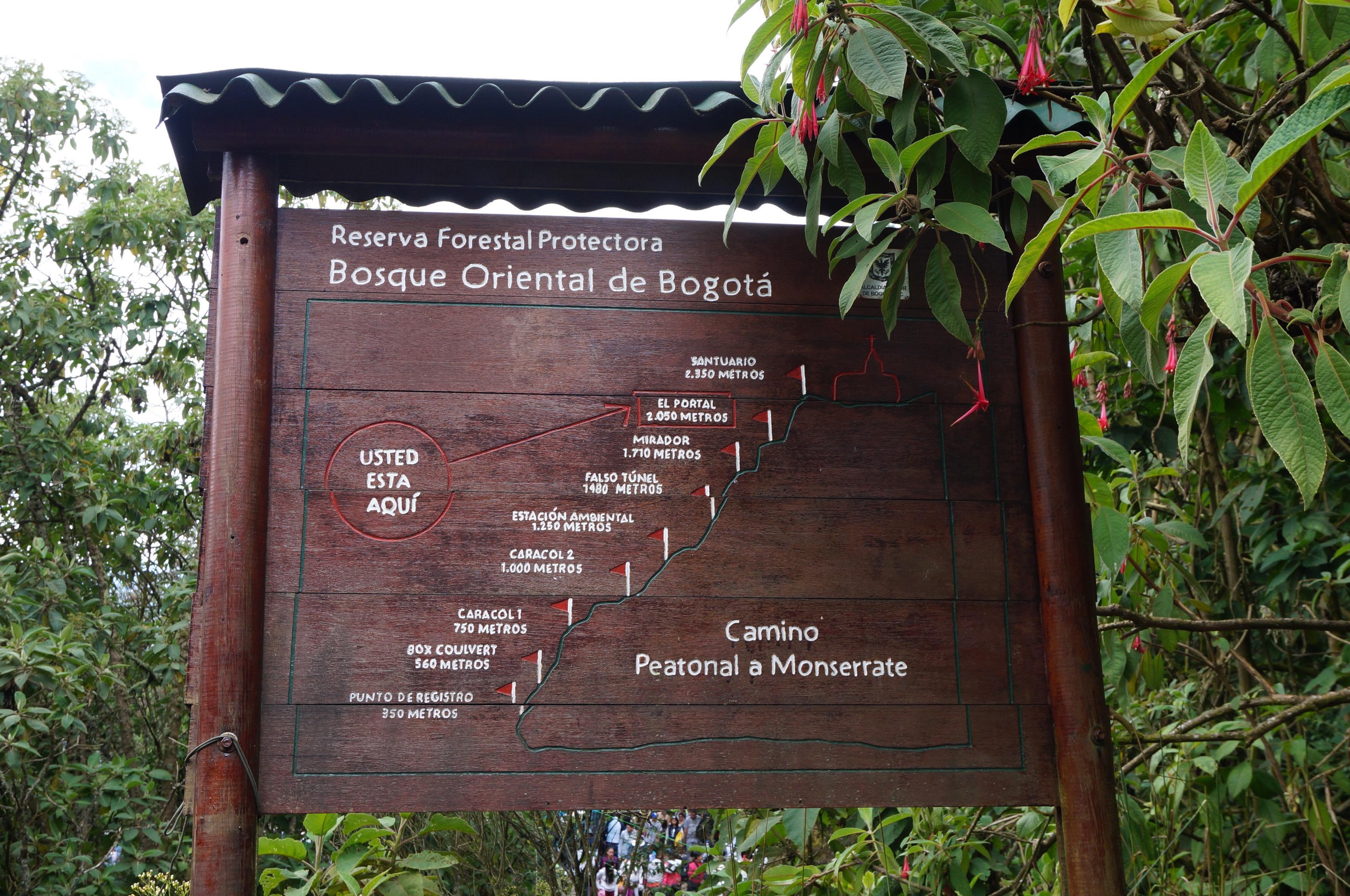 cerro de monteverde, colombie, bogota