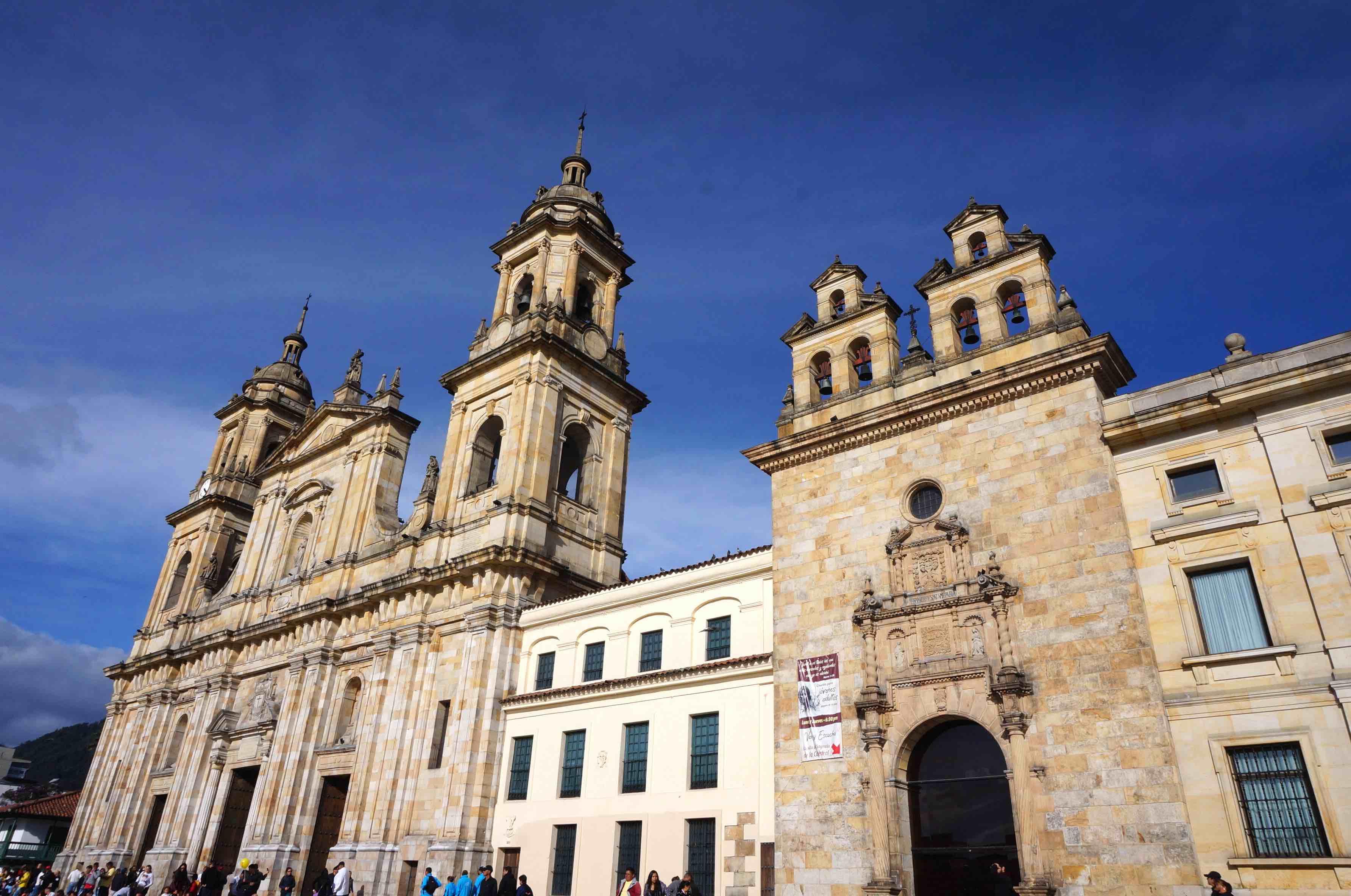 plaza bolivar, la candeleria, bogota, colombie