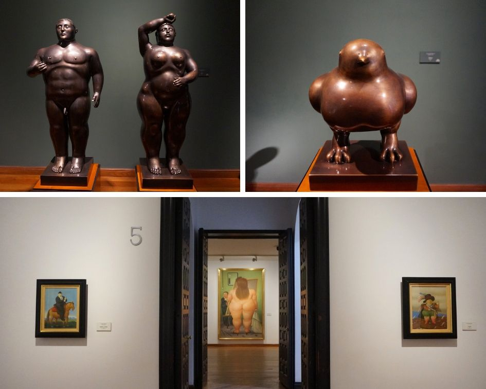 musee botero, colombie