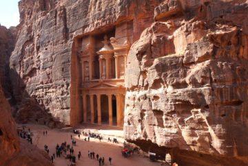 pétra, jordanie