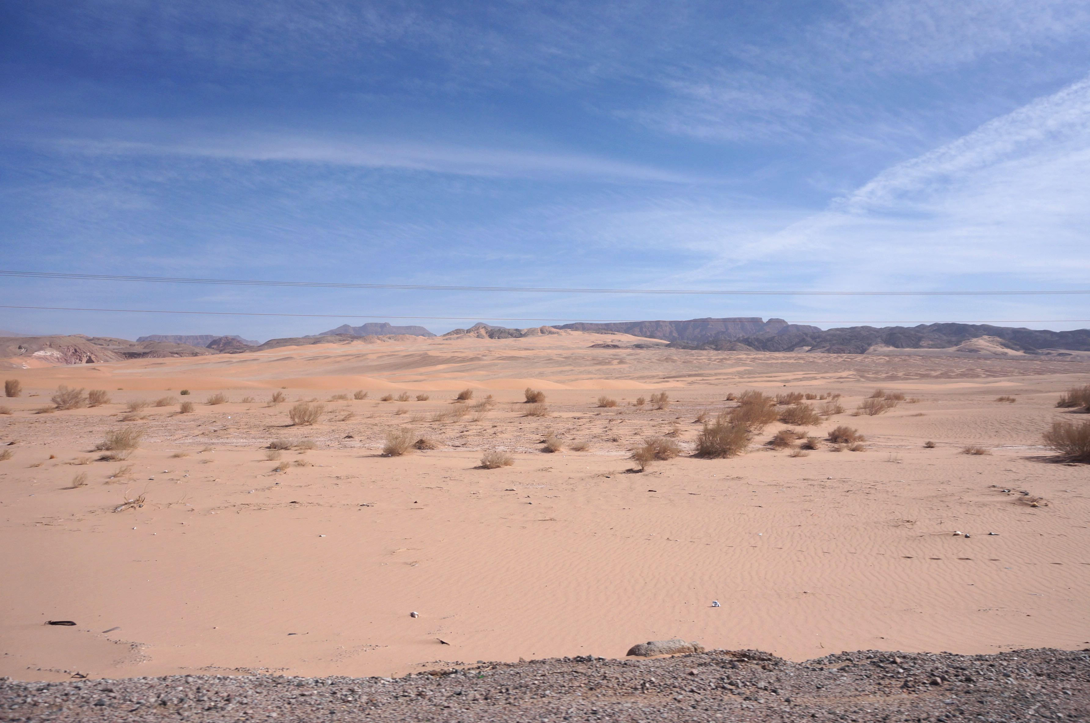 on the road, jordanie
