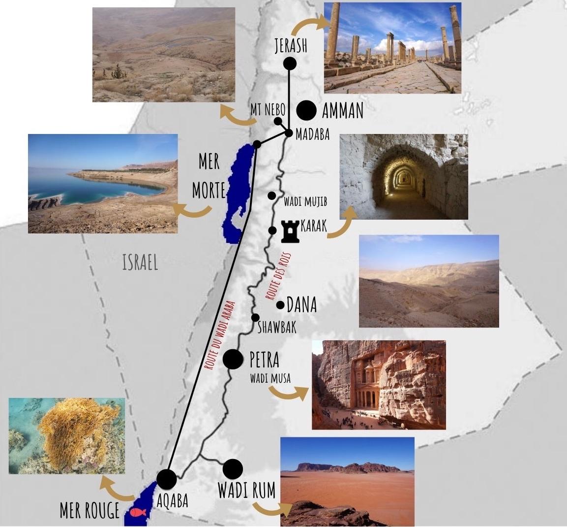 Plan jordanie