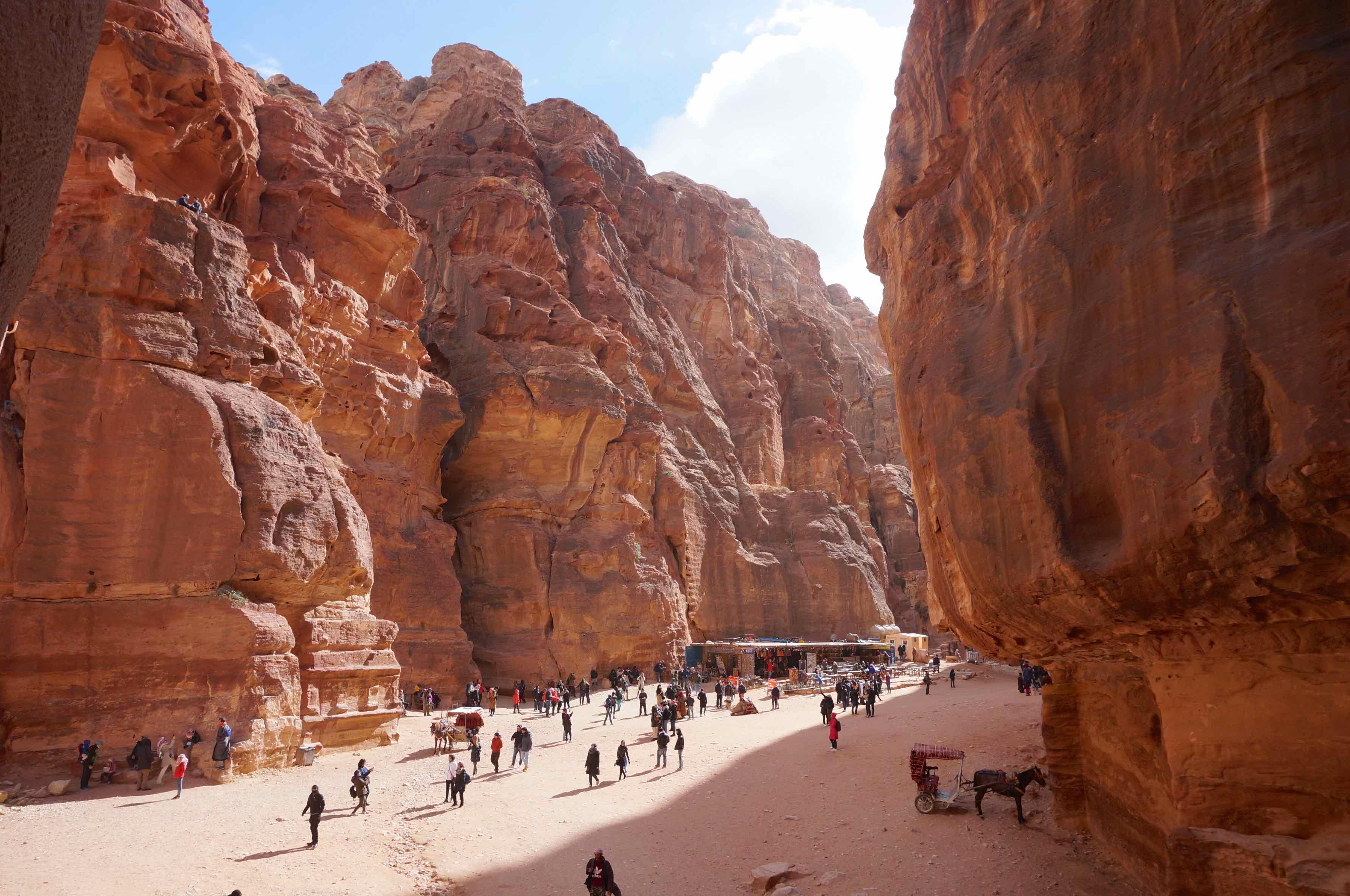 jordanie, Khazneh, le Trésor