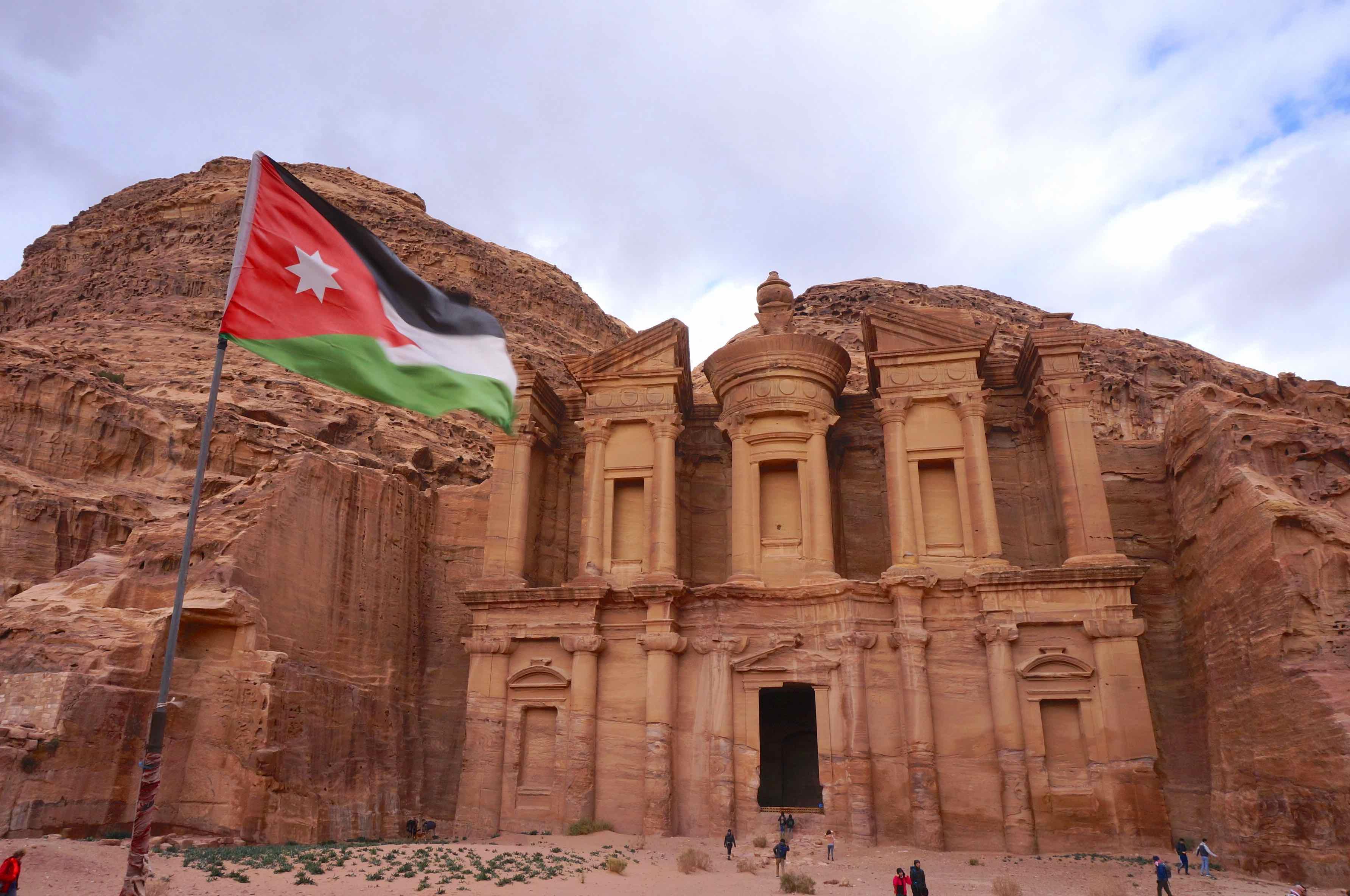 ad deir, le monastere, jordanie, petra