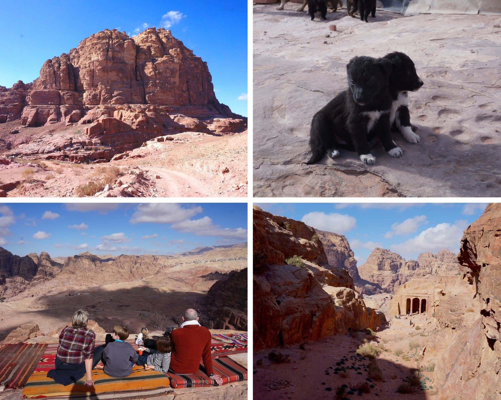 wadi al farasa, petra, jordanie