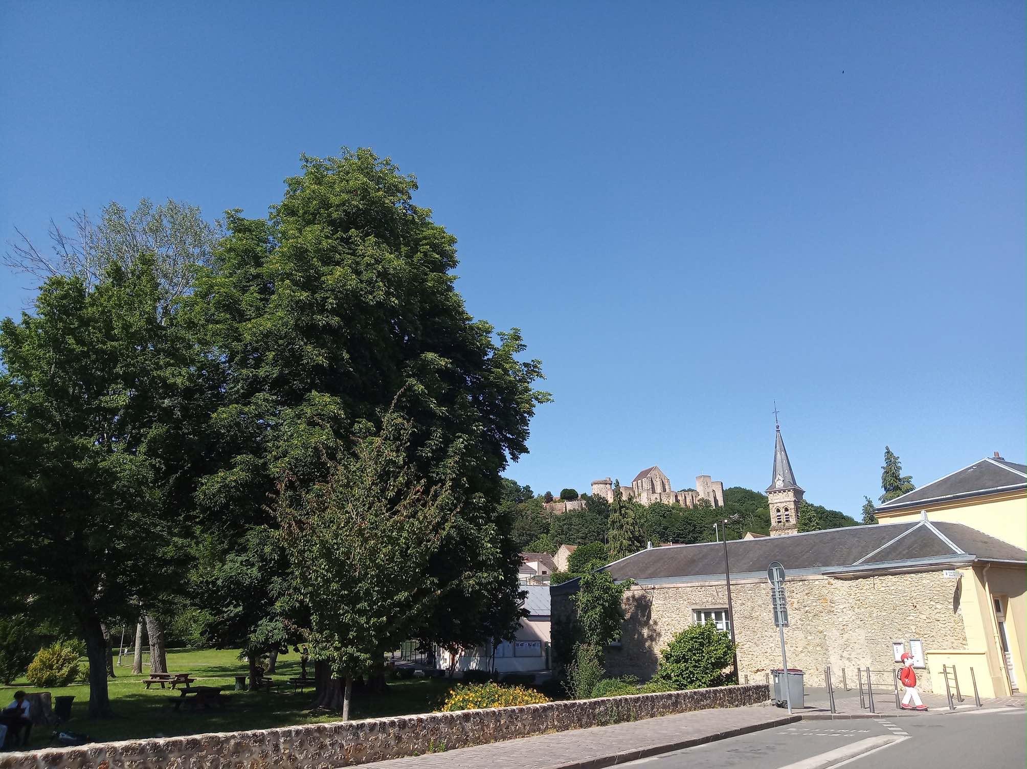 chevreuse, château de la madeleine, vallée de chevreuse