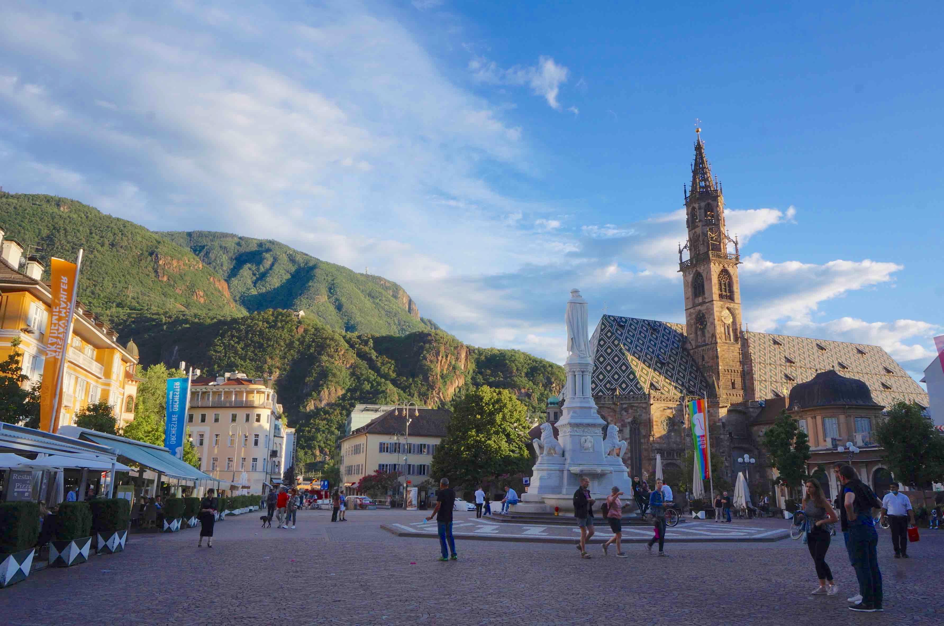 Bolzano, dolomites, italie