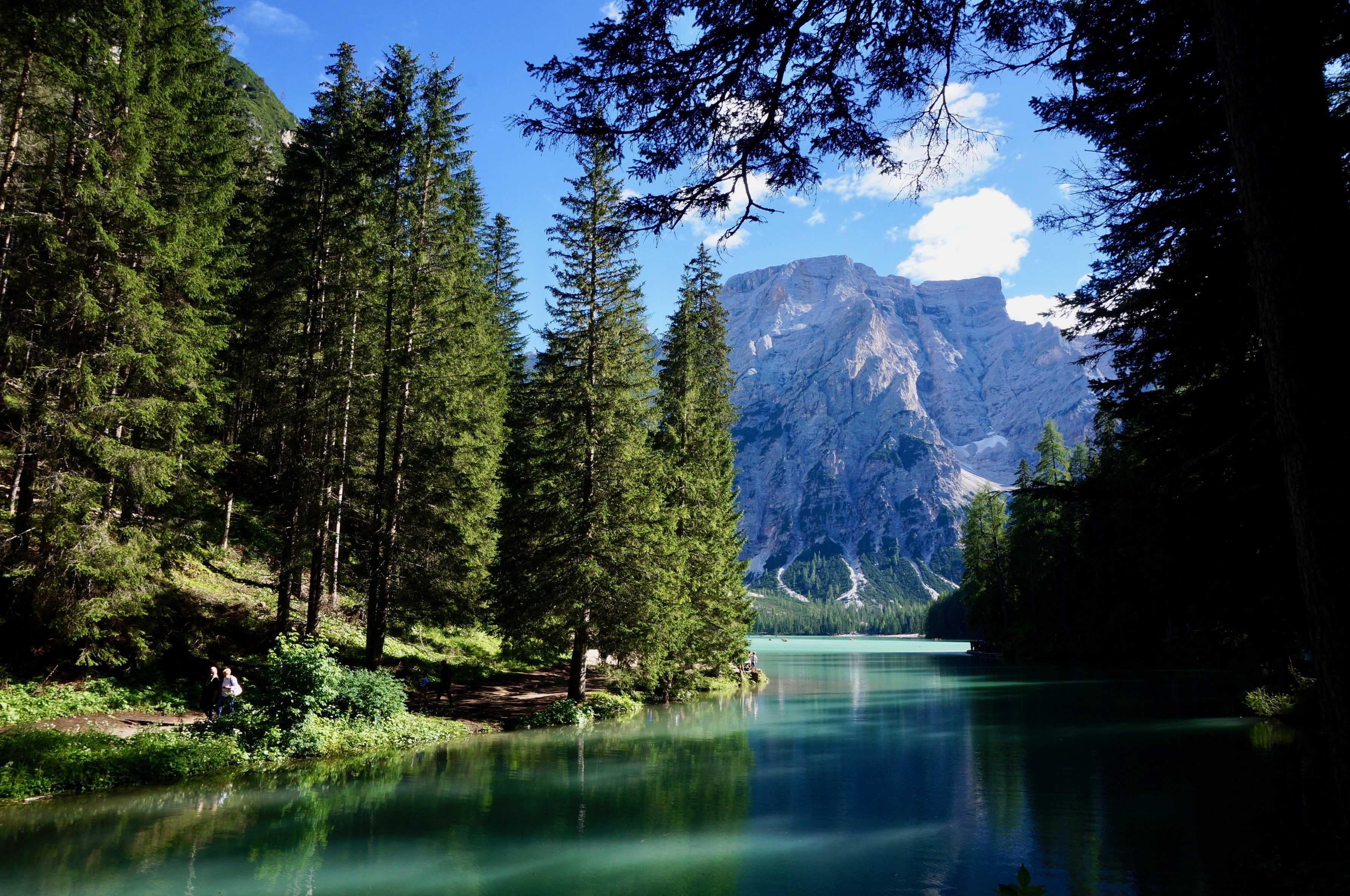 dolomites, lago di braies
