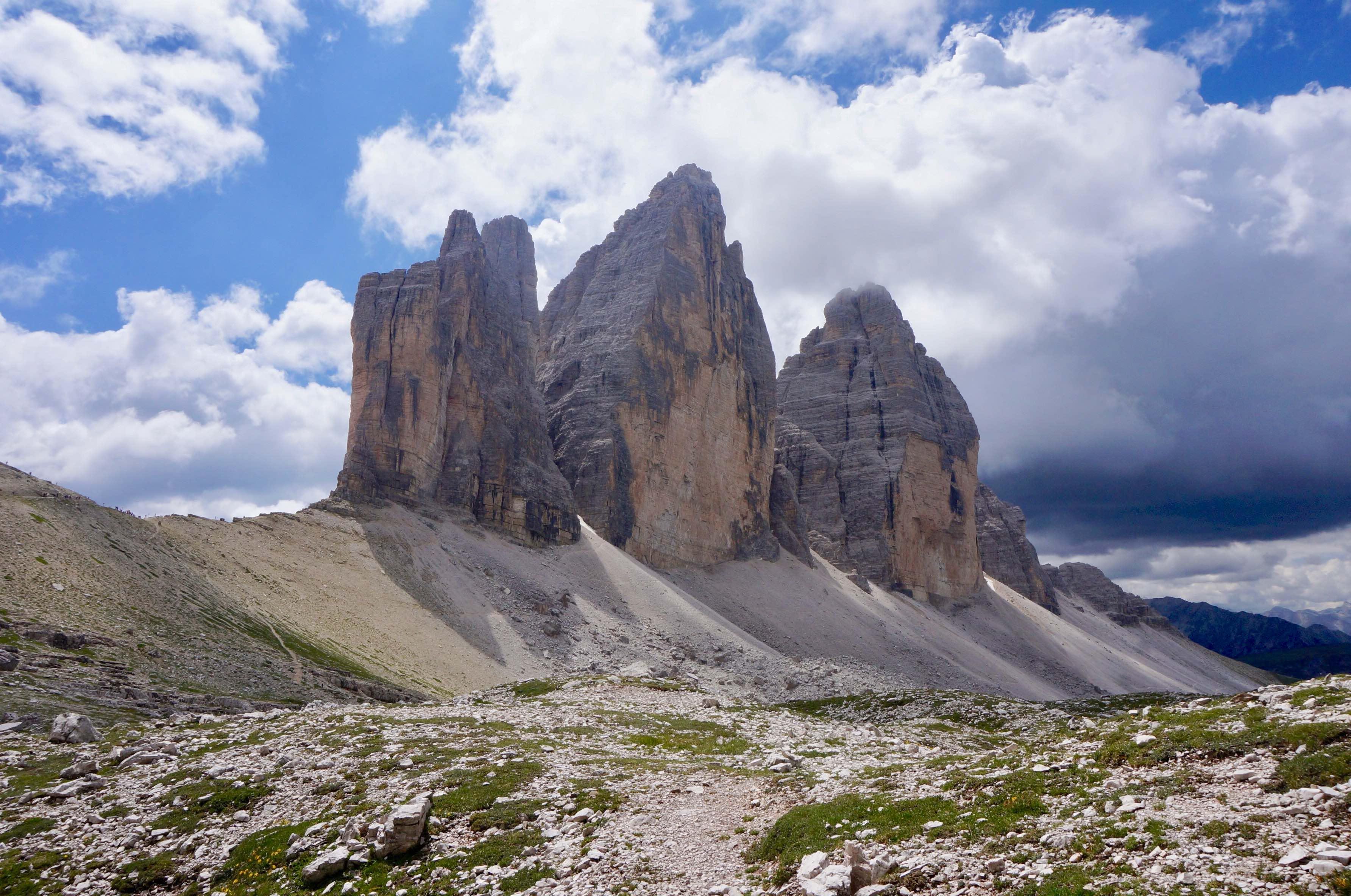 dolomites, Tre Cime di Lavadero, italie