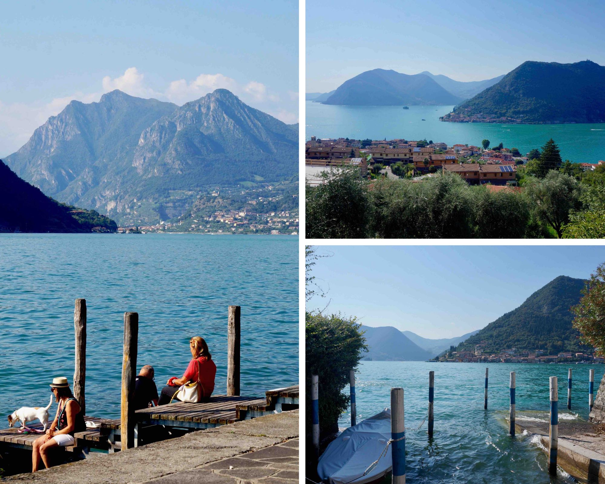 lago d'iseo, italie