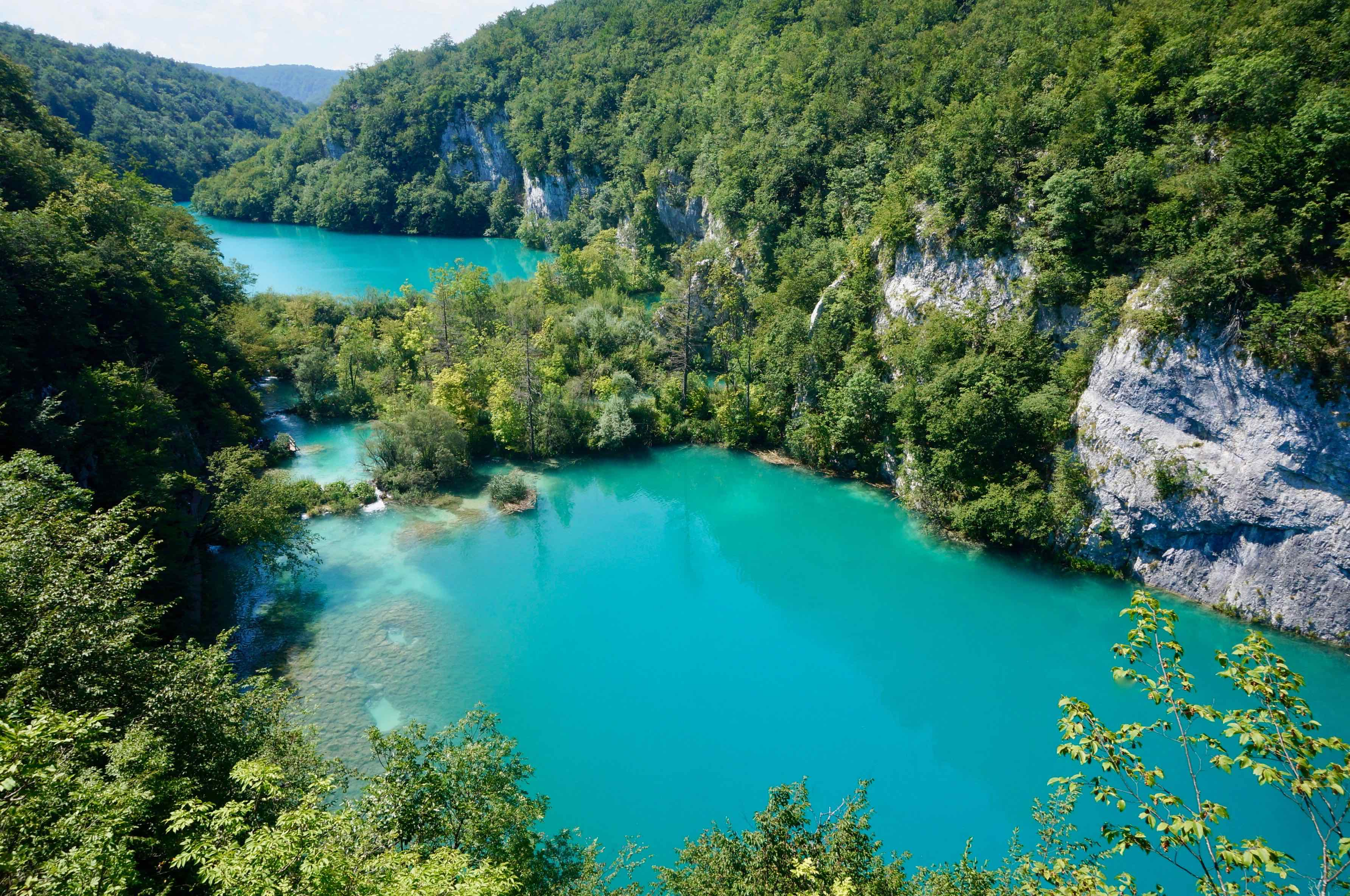 lacs de plitvice, croatie