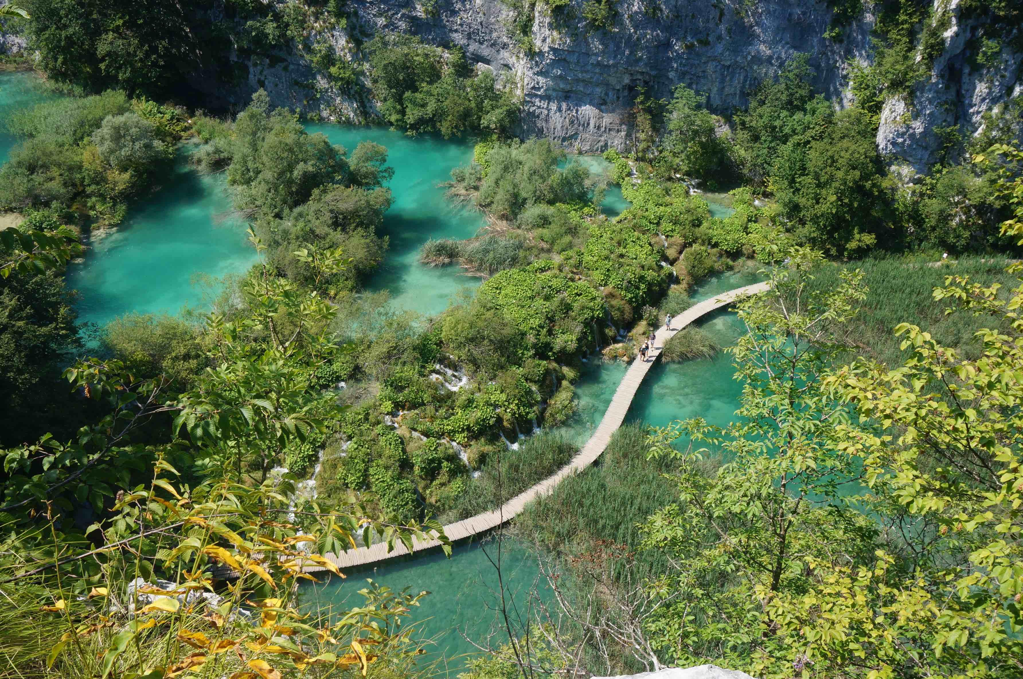 croatie, lacs de plitvice