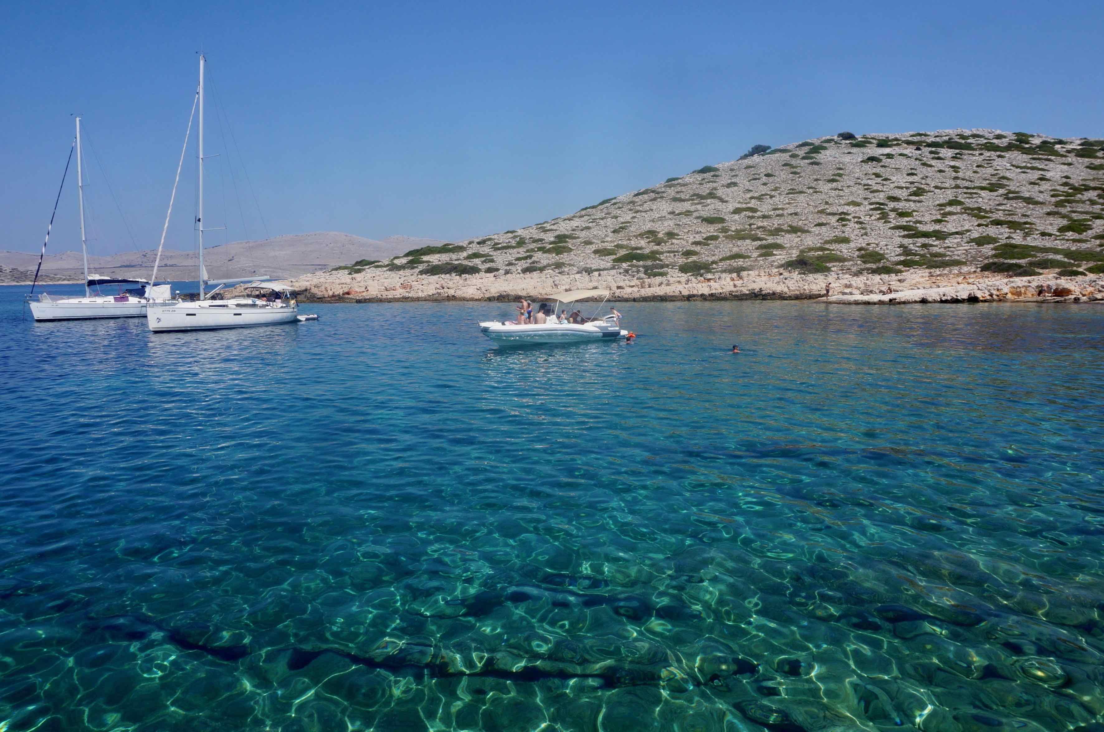 archipel des kornati, croatie