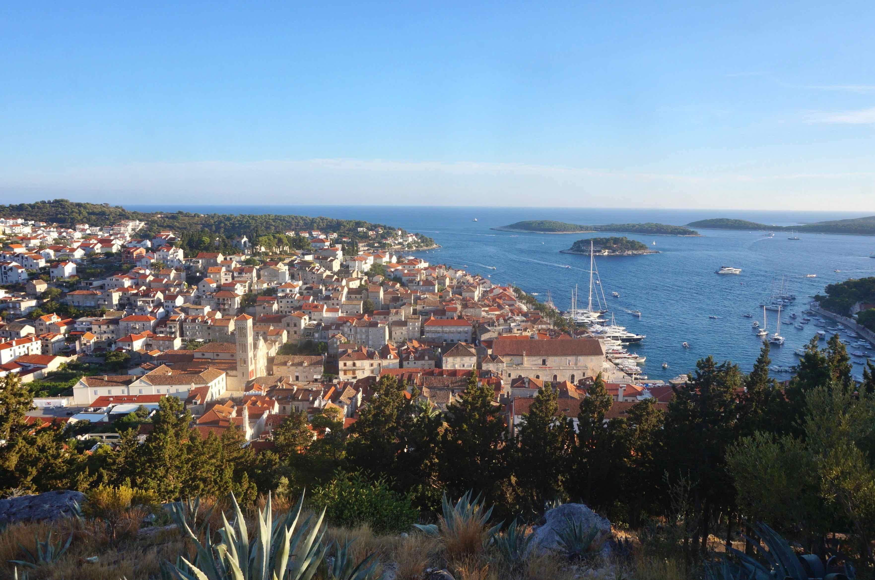 île de hvar, croatie