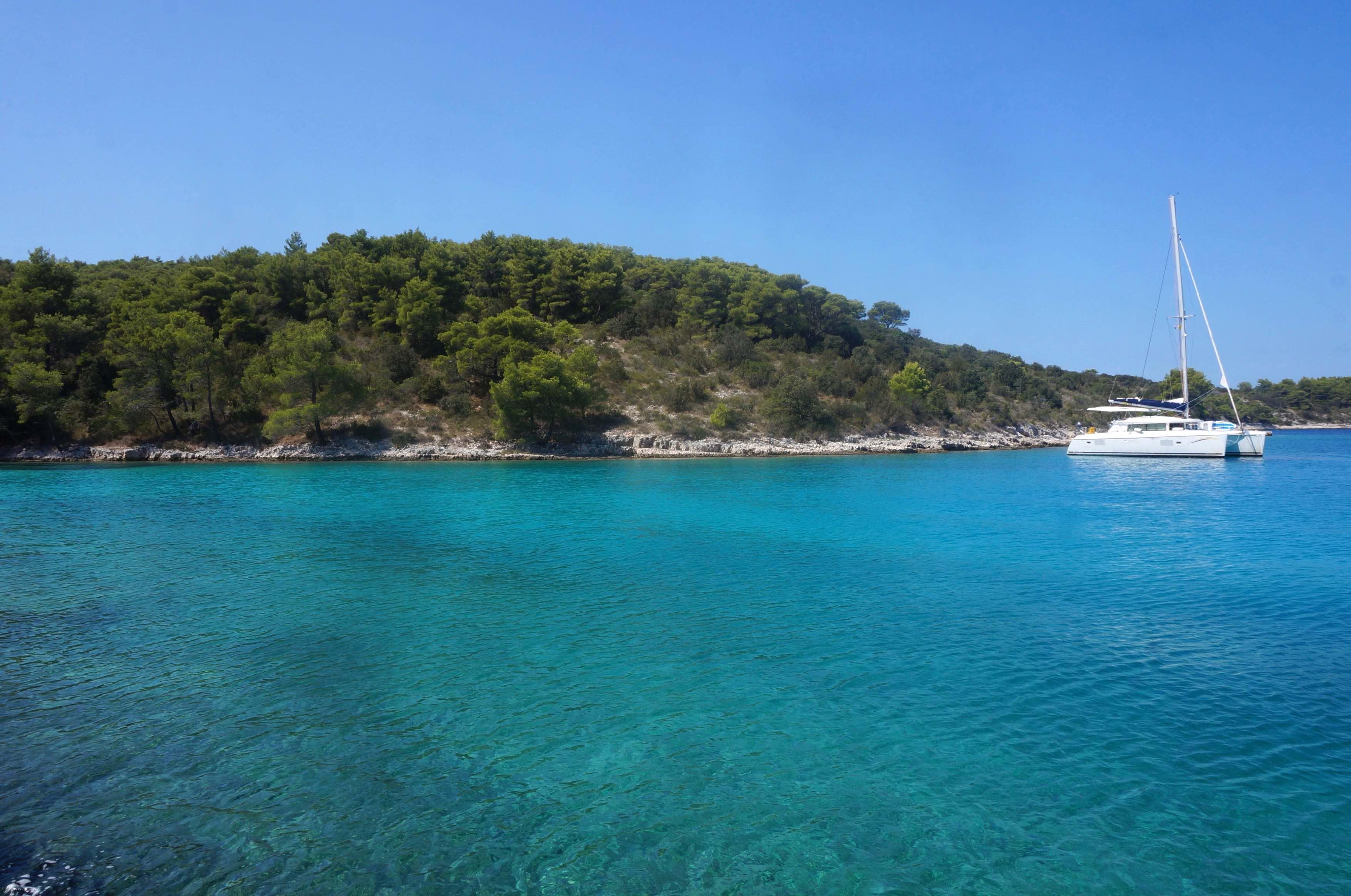 île de hvar, croatie, presqu'île de Kabal