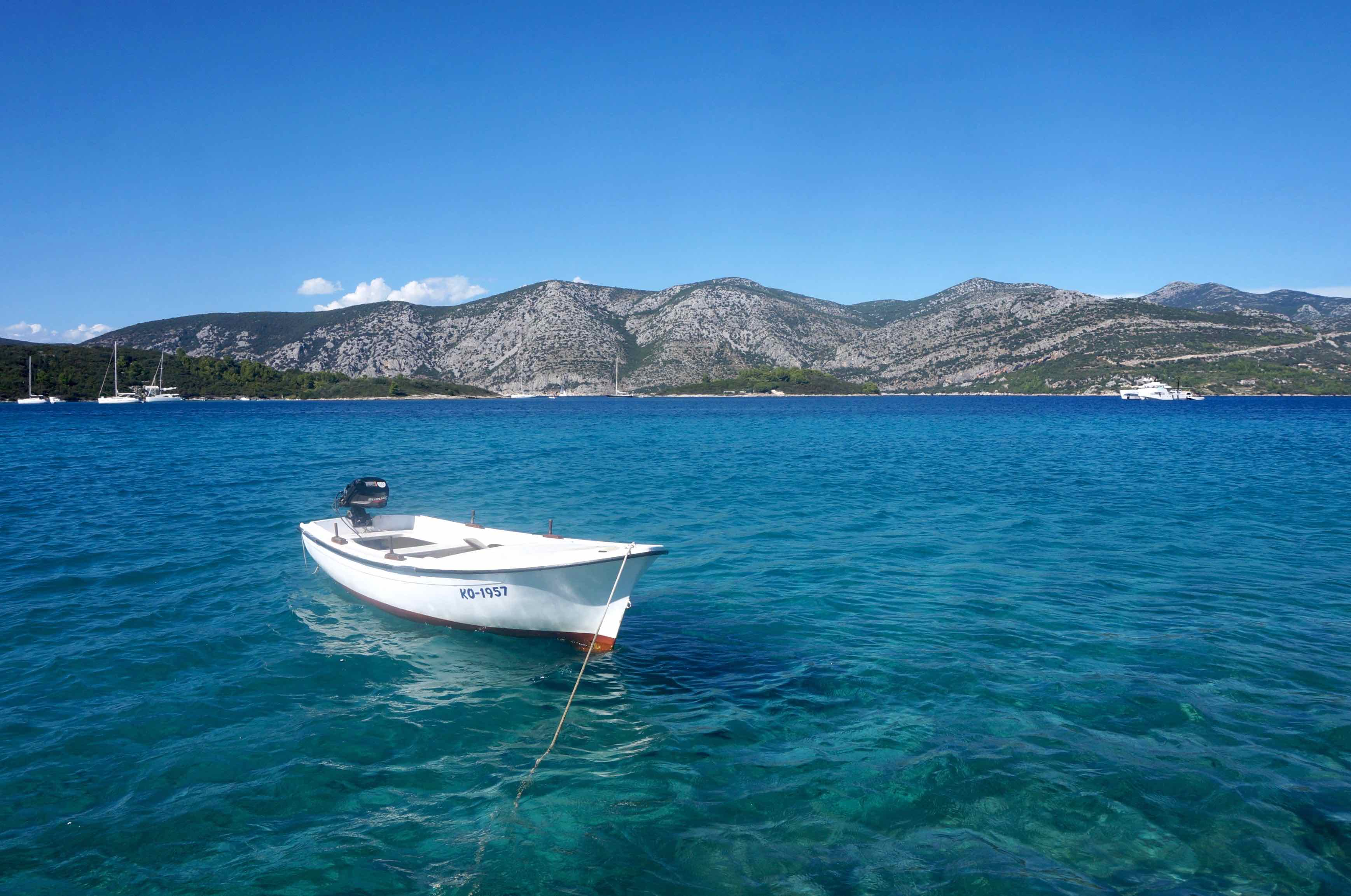 île de Korkula, croatie