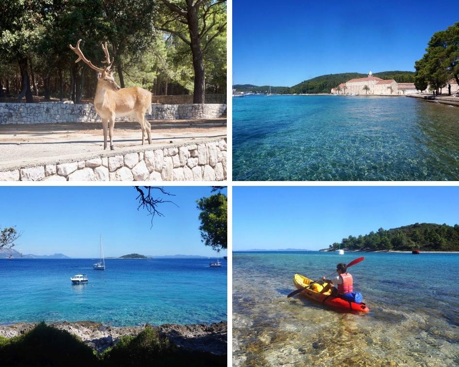 île de badija, korkula, croatie