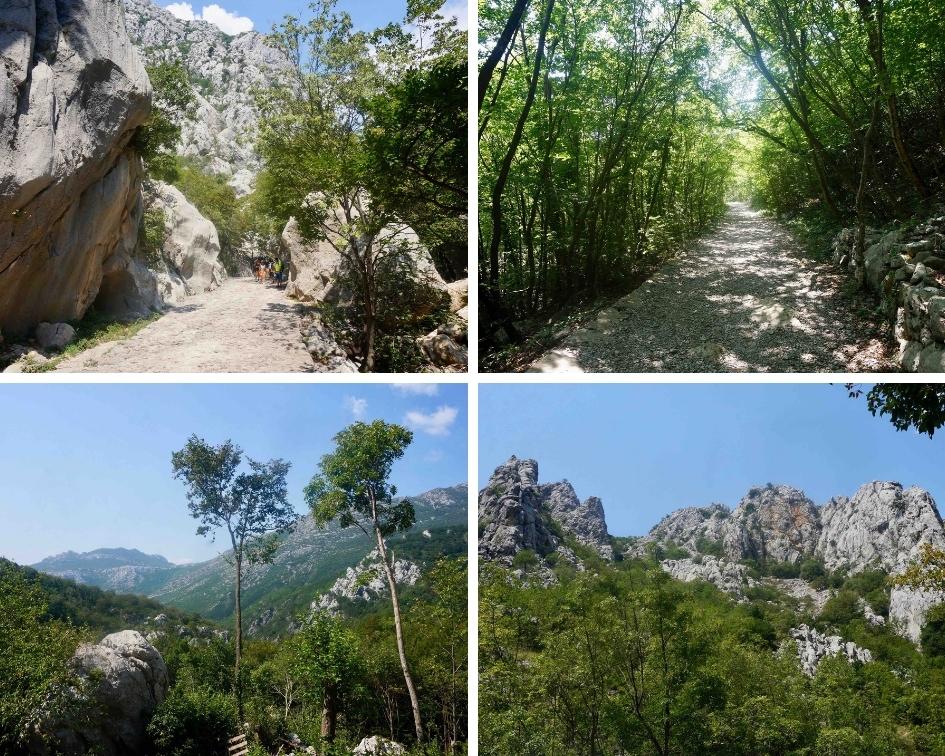 parc national de paklenica, croatie